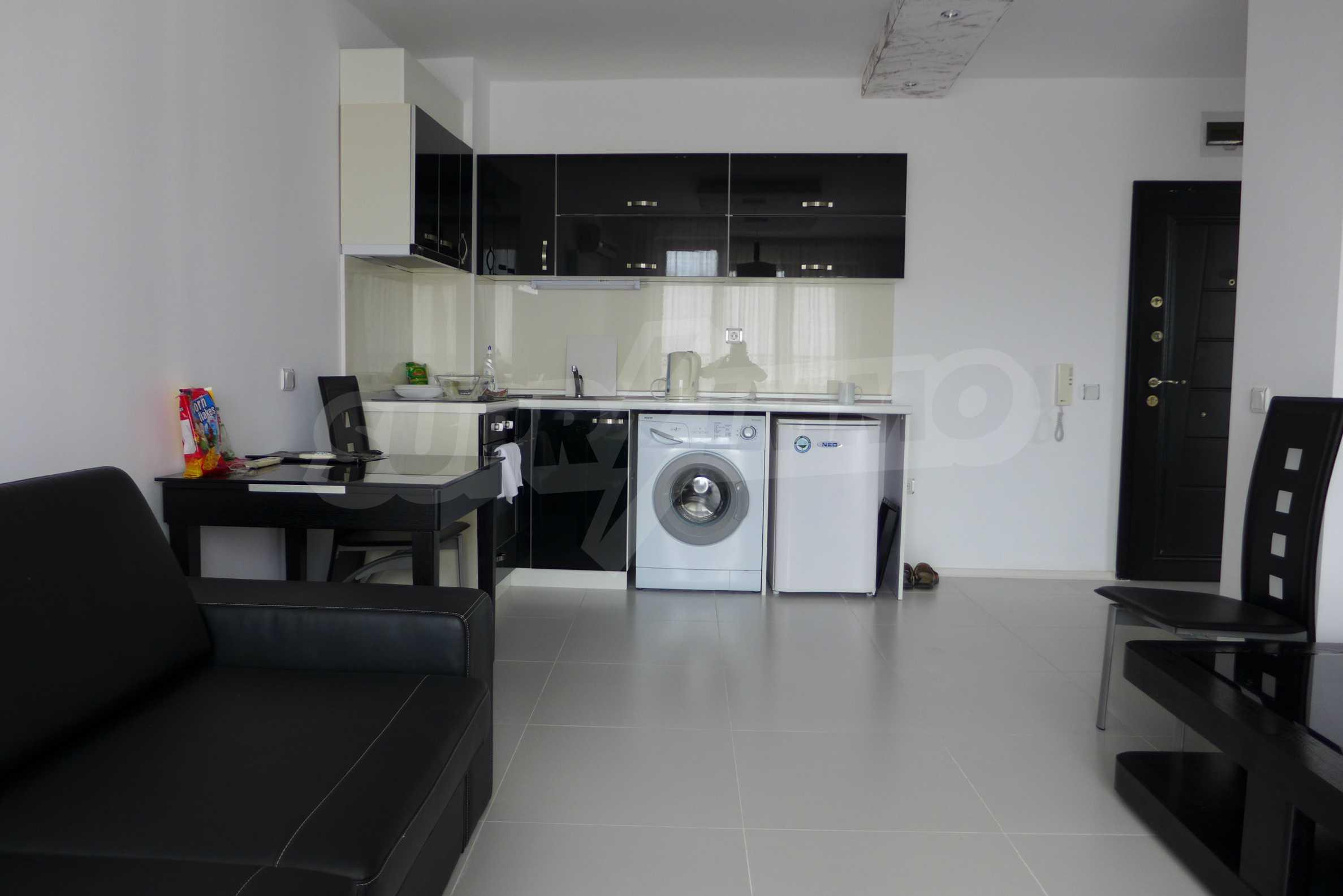 Möblierte Wohnung mit einem Schlafzimmer in Rich Komplex 3