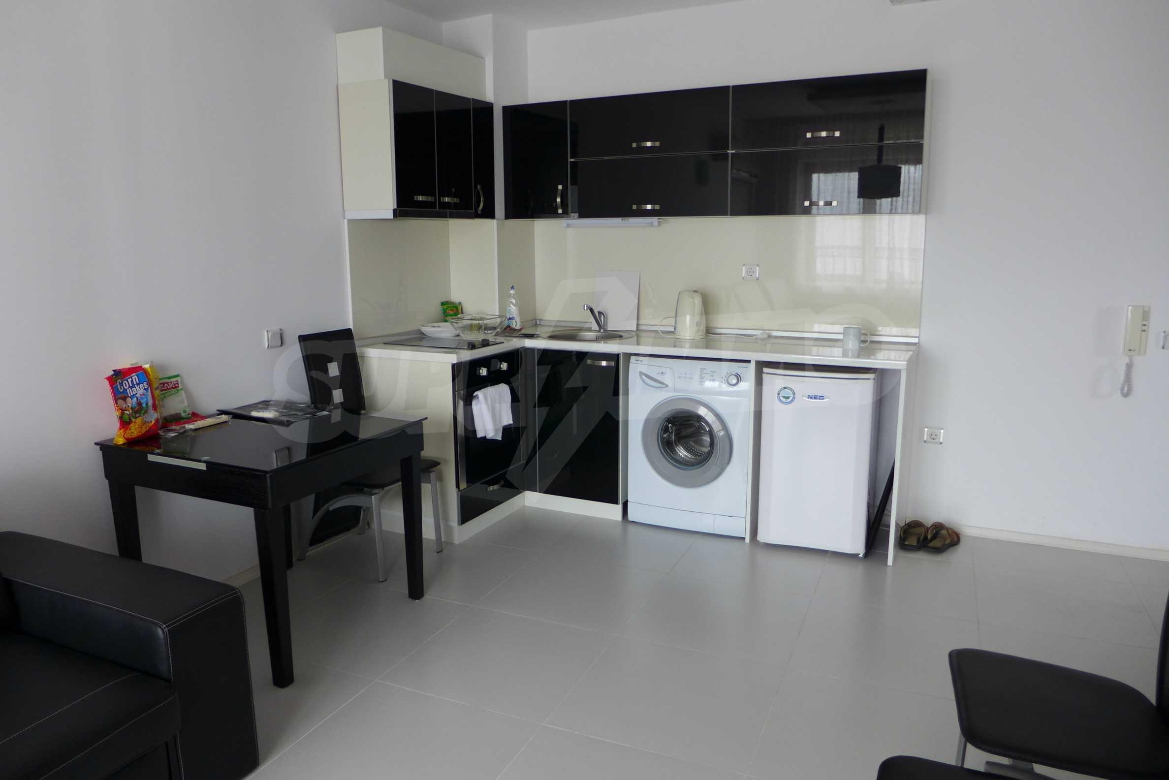 Möblierte Wohnung mit einem Schlafzimmer in Rich Komplex 4