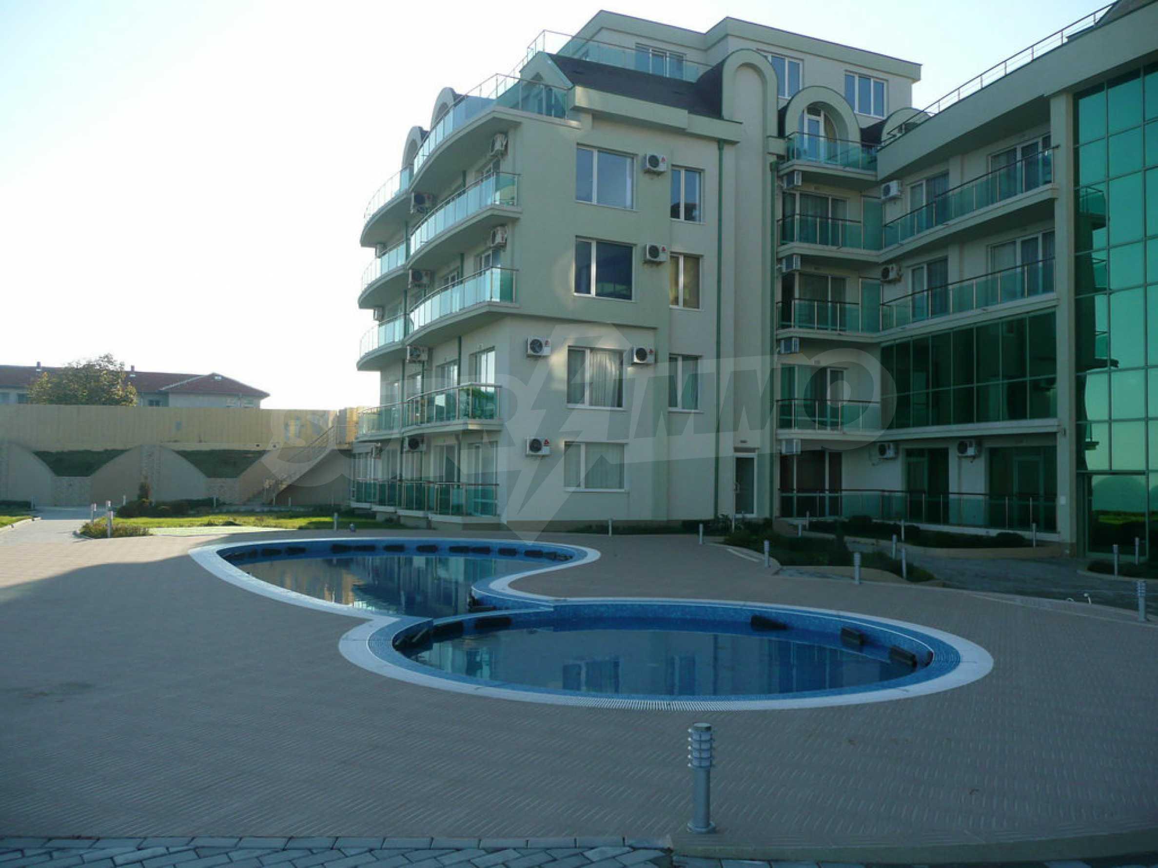 Apartment mit einem Schlafzimmer im Strandkomplex Lozenets 17