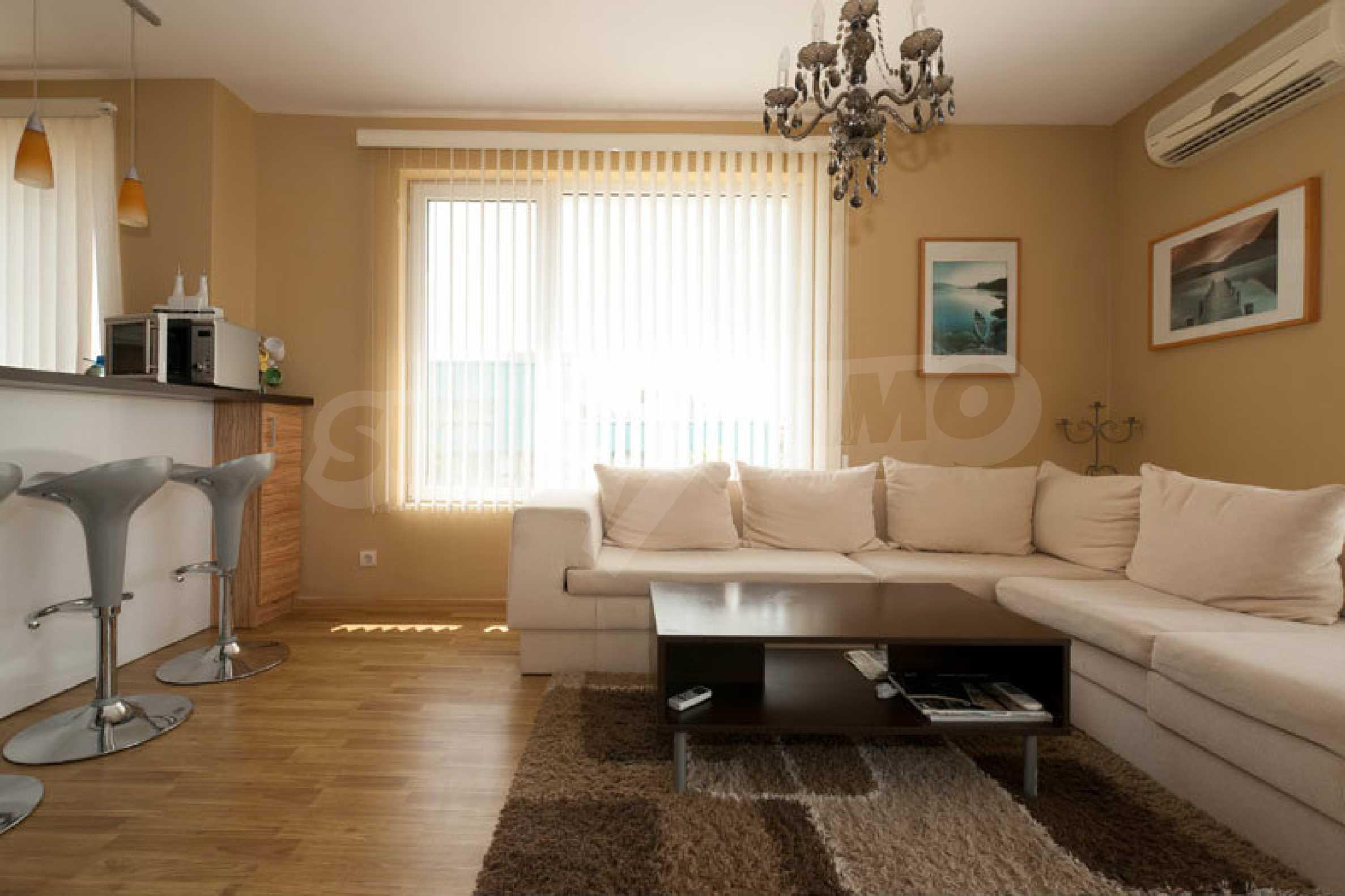 Apartment mit einem Schlafzimmer im Strandkomplex Lozenets 1