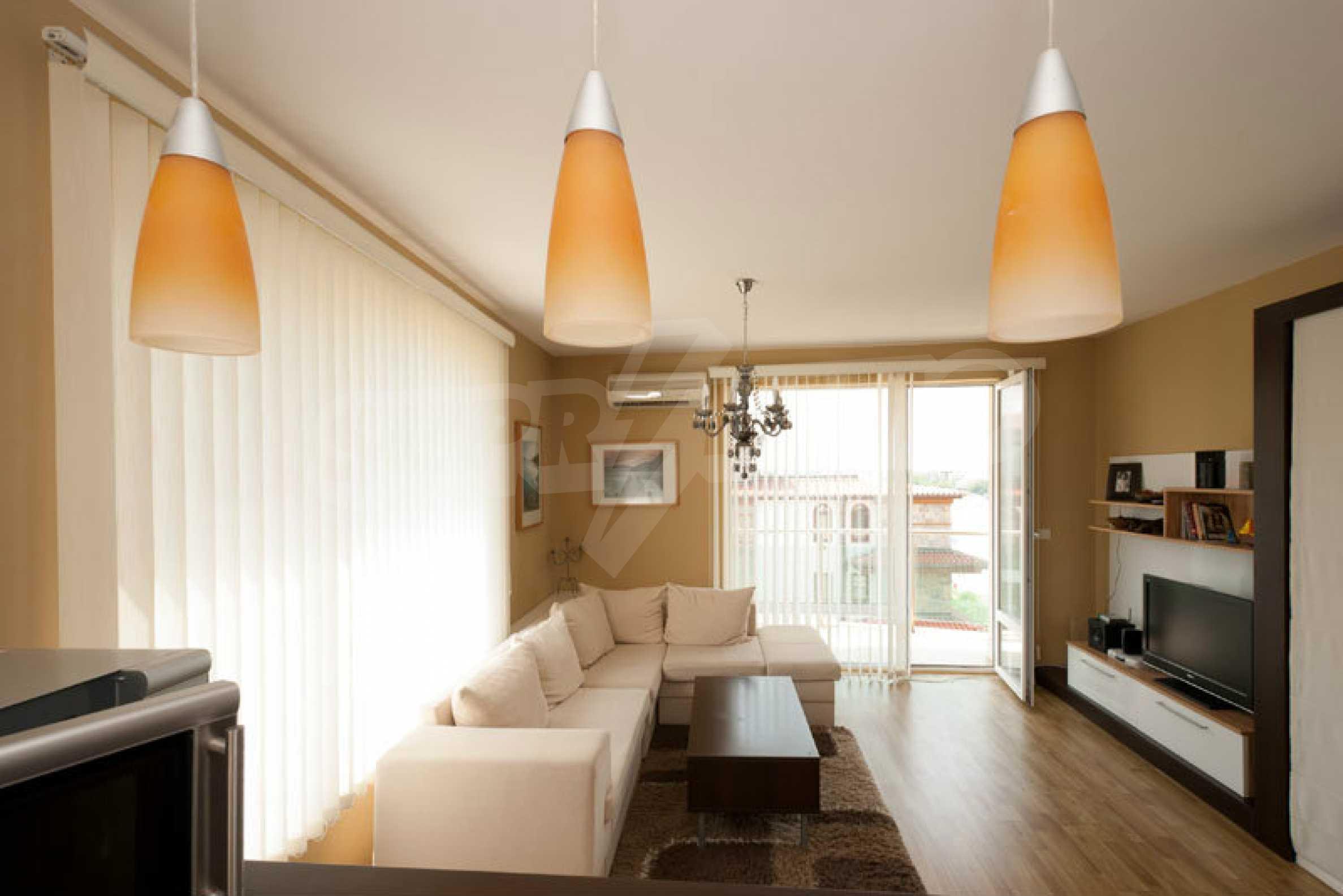 Apartment mit einem Schlafzimmer im Strandkomplex Lozenets 3
