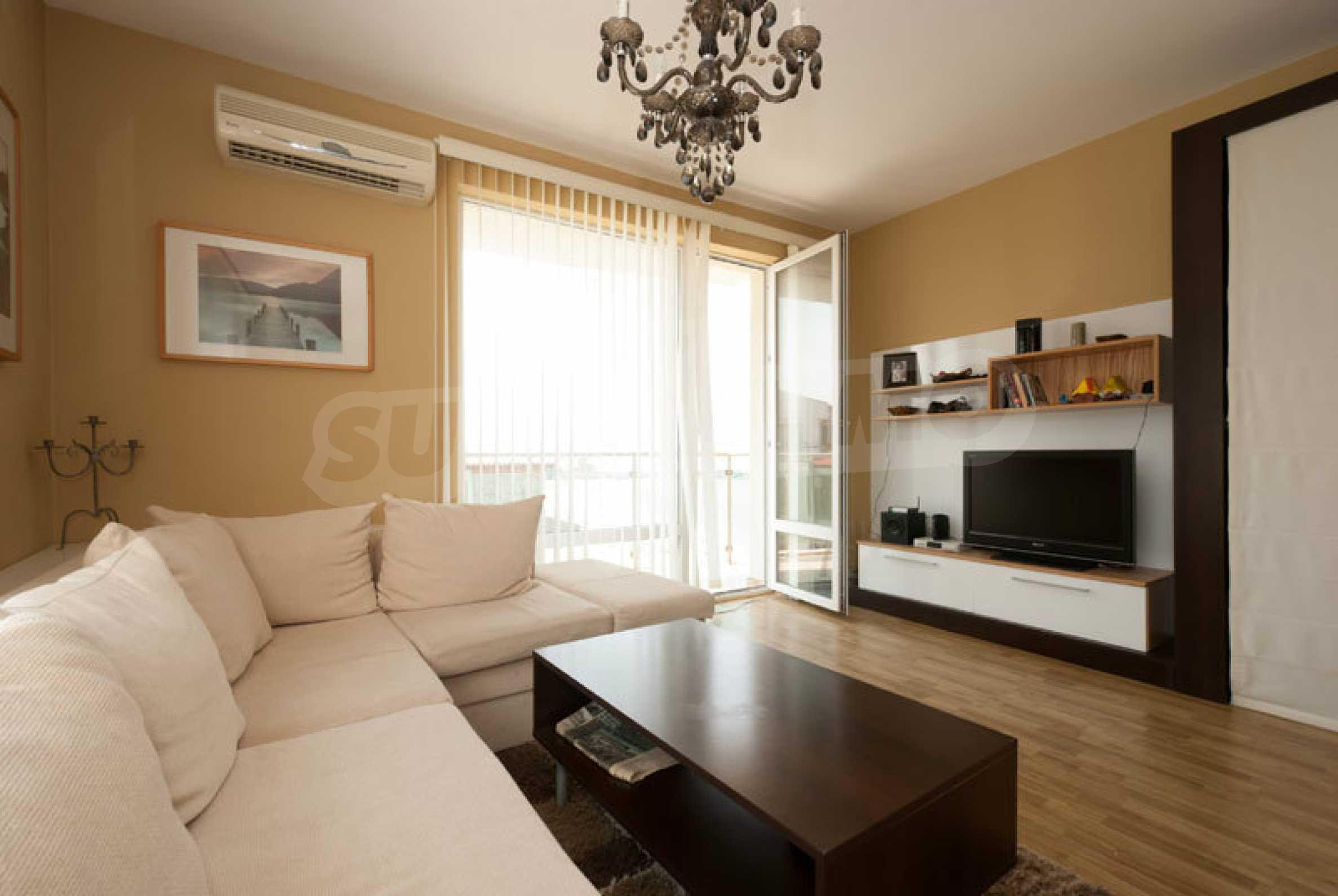 Apartment mit einem Schlafzimmer im Strandkomplex Lozenets 4