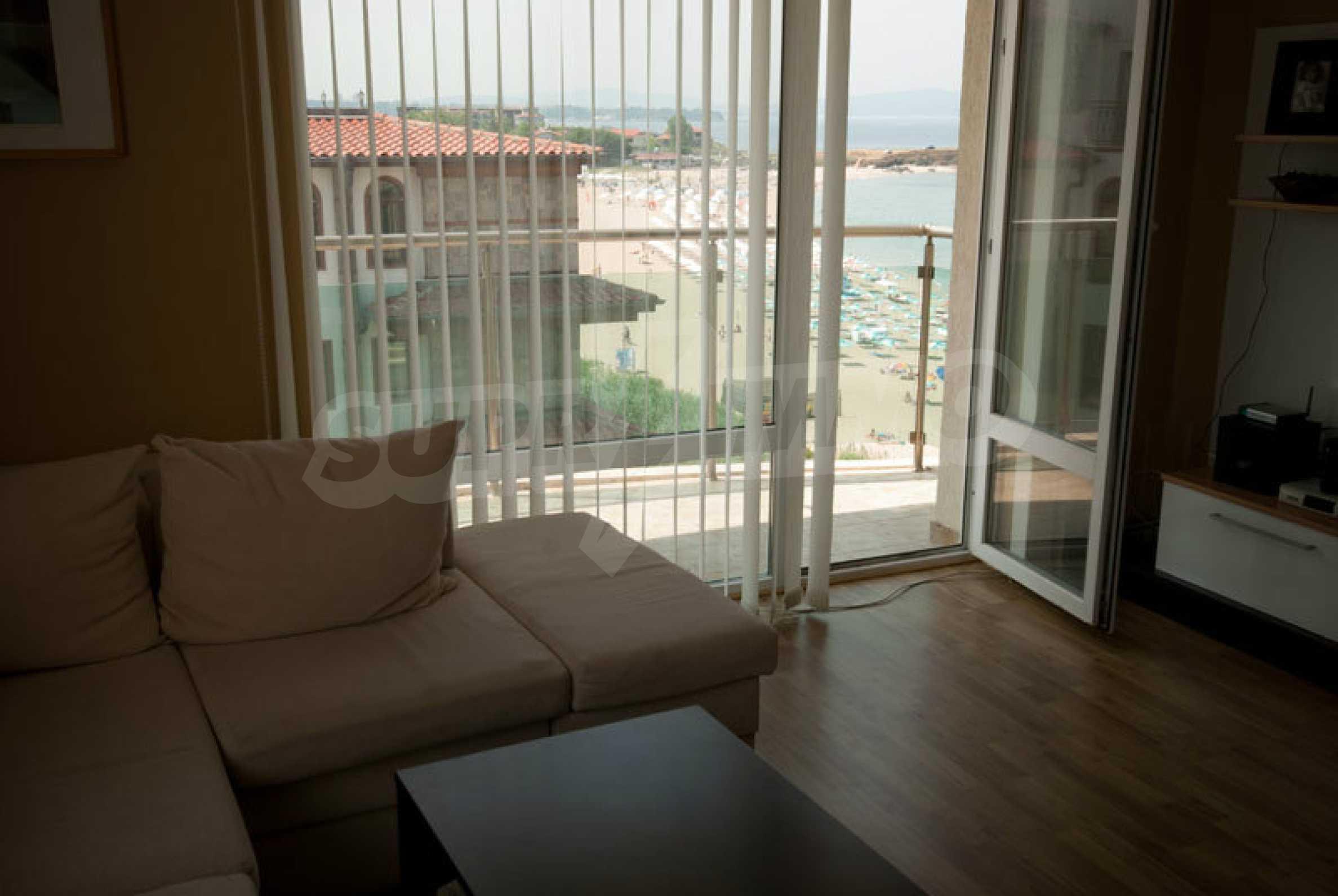 Apartment mit einem Schlafzimmer im Strandkomplex Lozenets 5