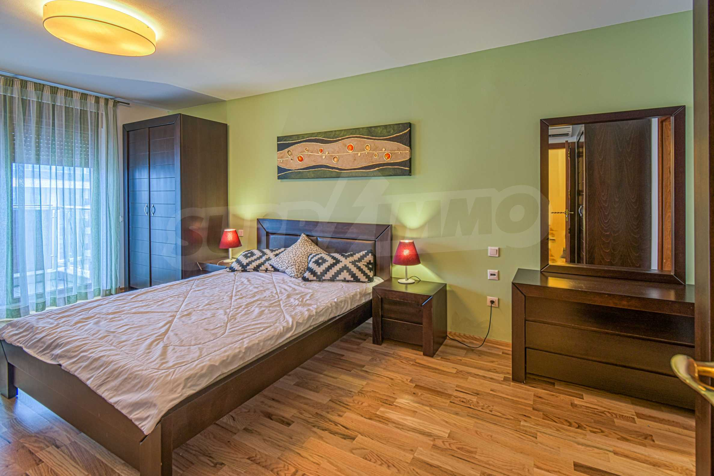 Luxurious and fully furnished two-bedroom apartment in a gated complex at the foot of Vitosha Mountain 10