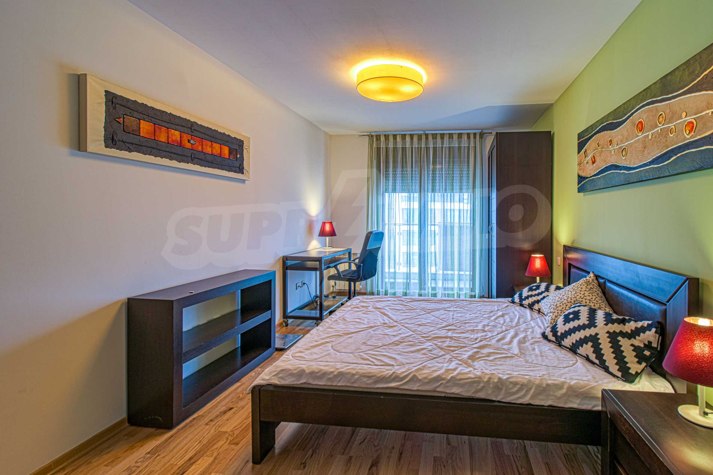 Luxurious and fully furnished two-bedroom apartment in a gated complex at the foot of Vitosha Mountain 11