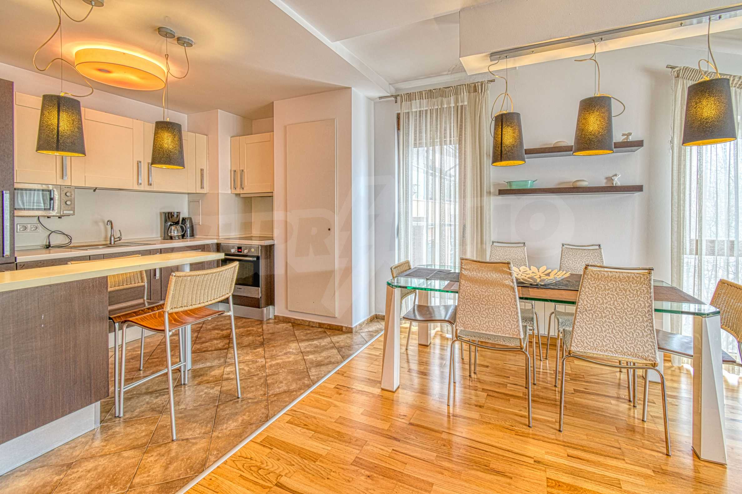Luxurious and fully furnished two-bedroom apartment in a gated complex at the foot of Vitosha Mountain 1