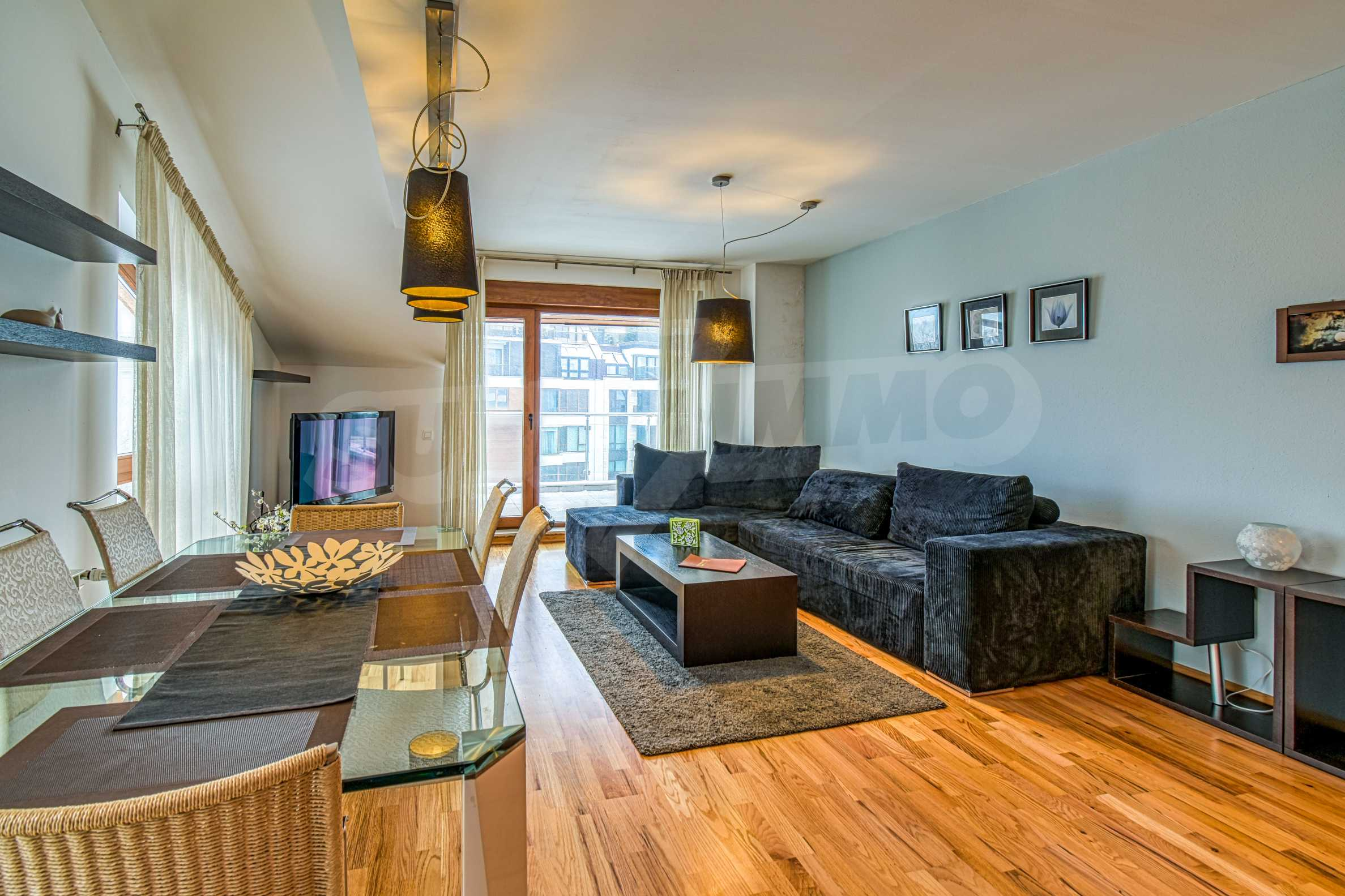 Luxurious and fully furnished two-bedroom apartment in a gated complex at the foot of Vitosha Mountain 3