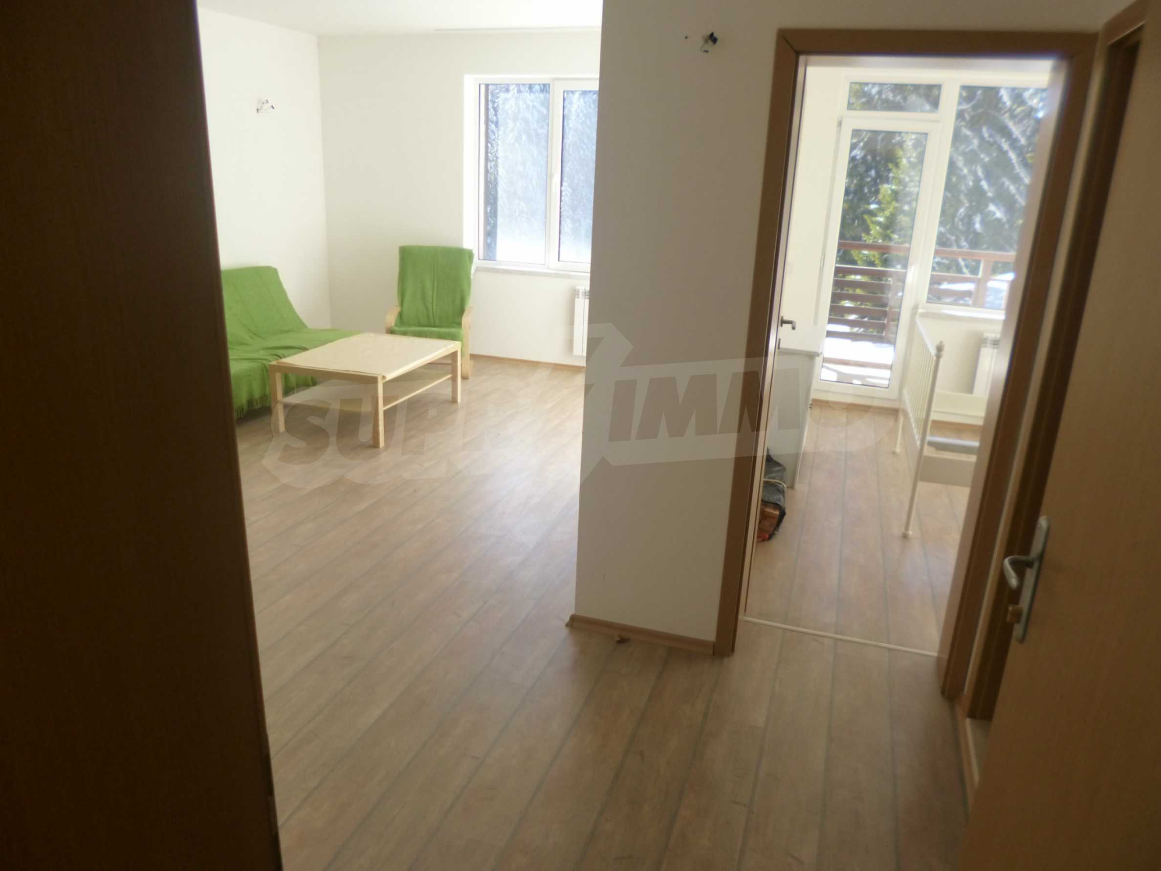 1-bedroom flat in the complex Stream Resort in Pamporovo