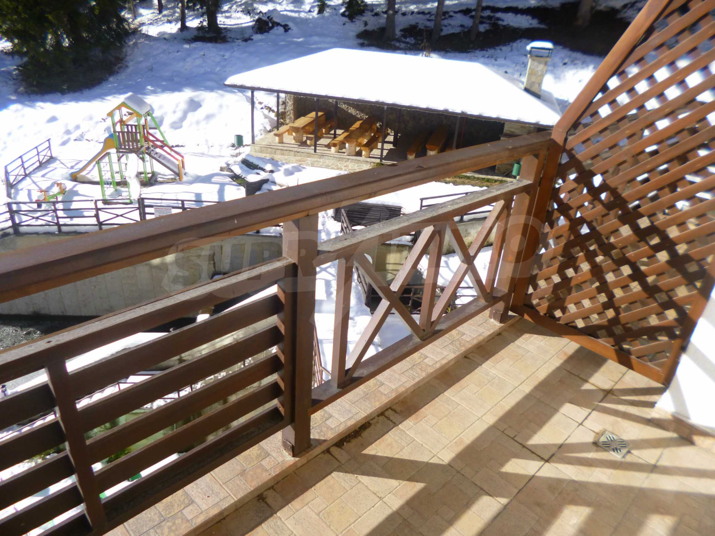 1-bedroom flat in the complex Stream Resort in Pamporovo 11