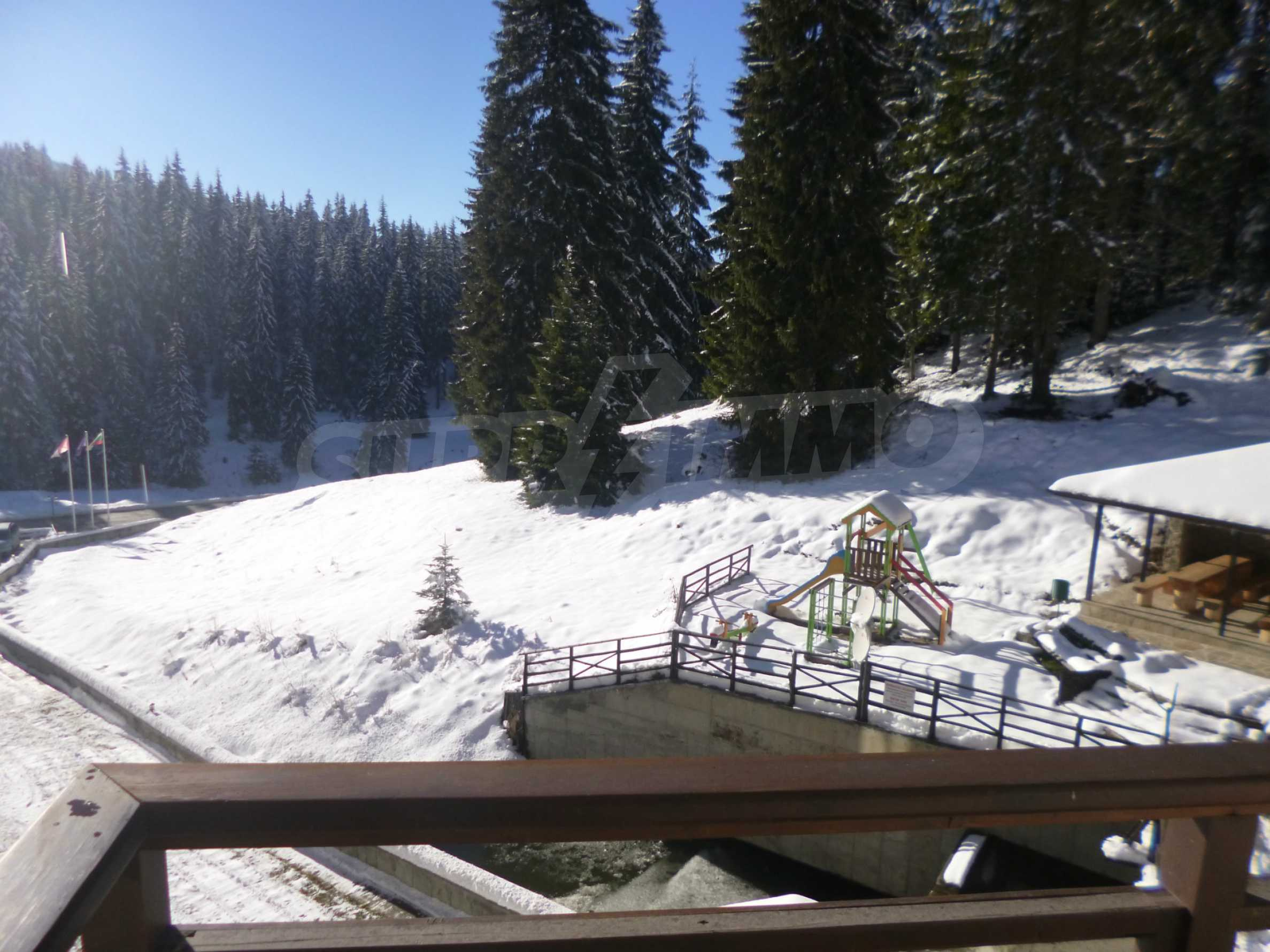 1-bedroom flat in the complex Stream Resort in Pamporovo 12