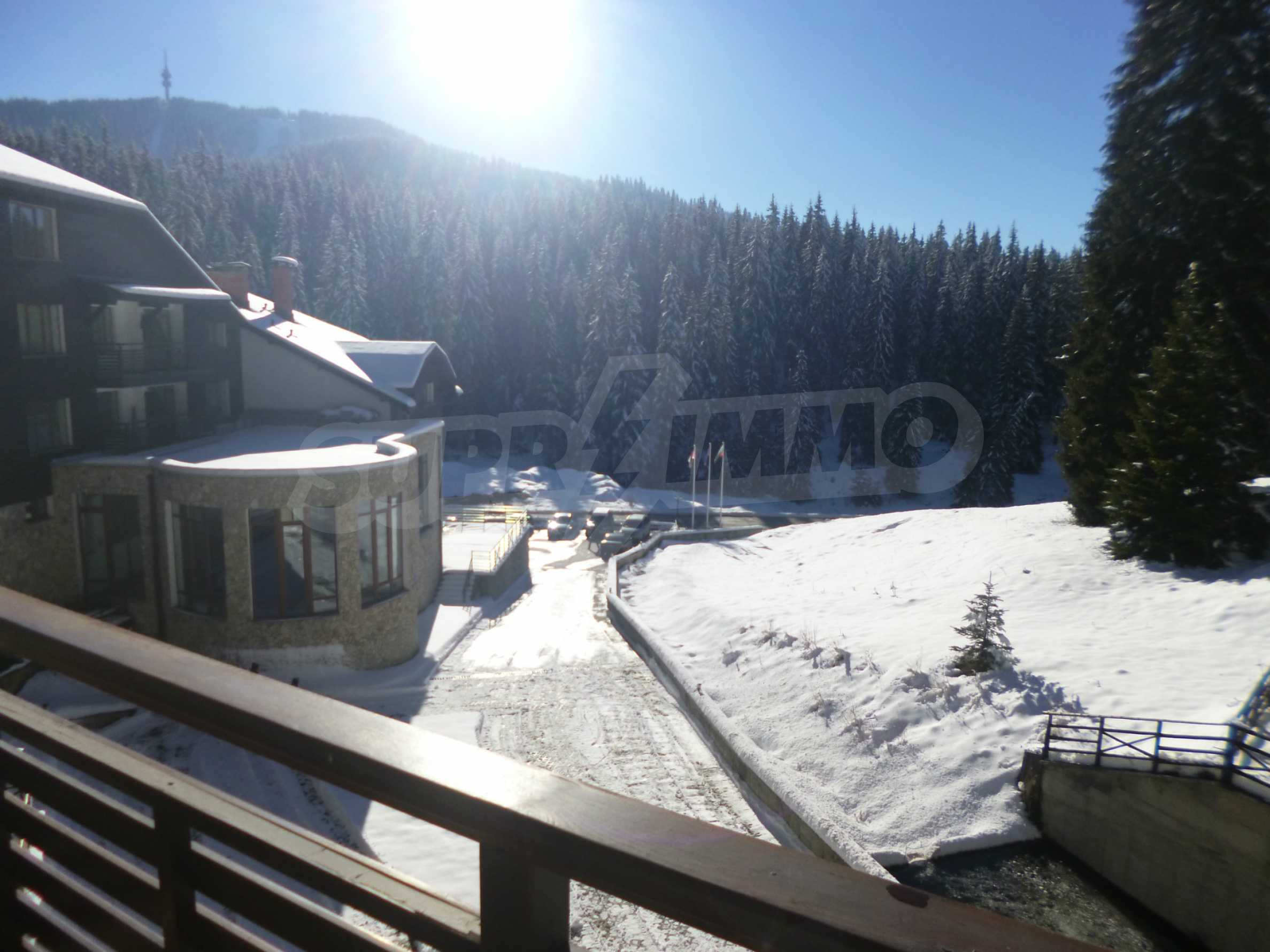 1-bedroom flat in the complex Stream Resort in Pamporovo 13