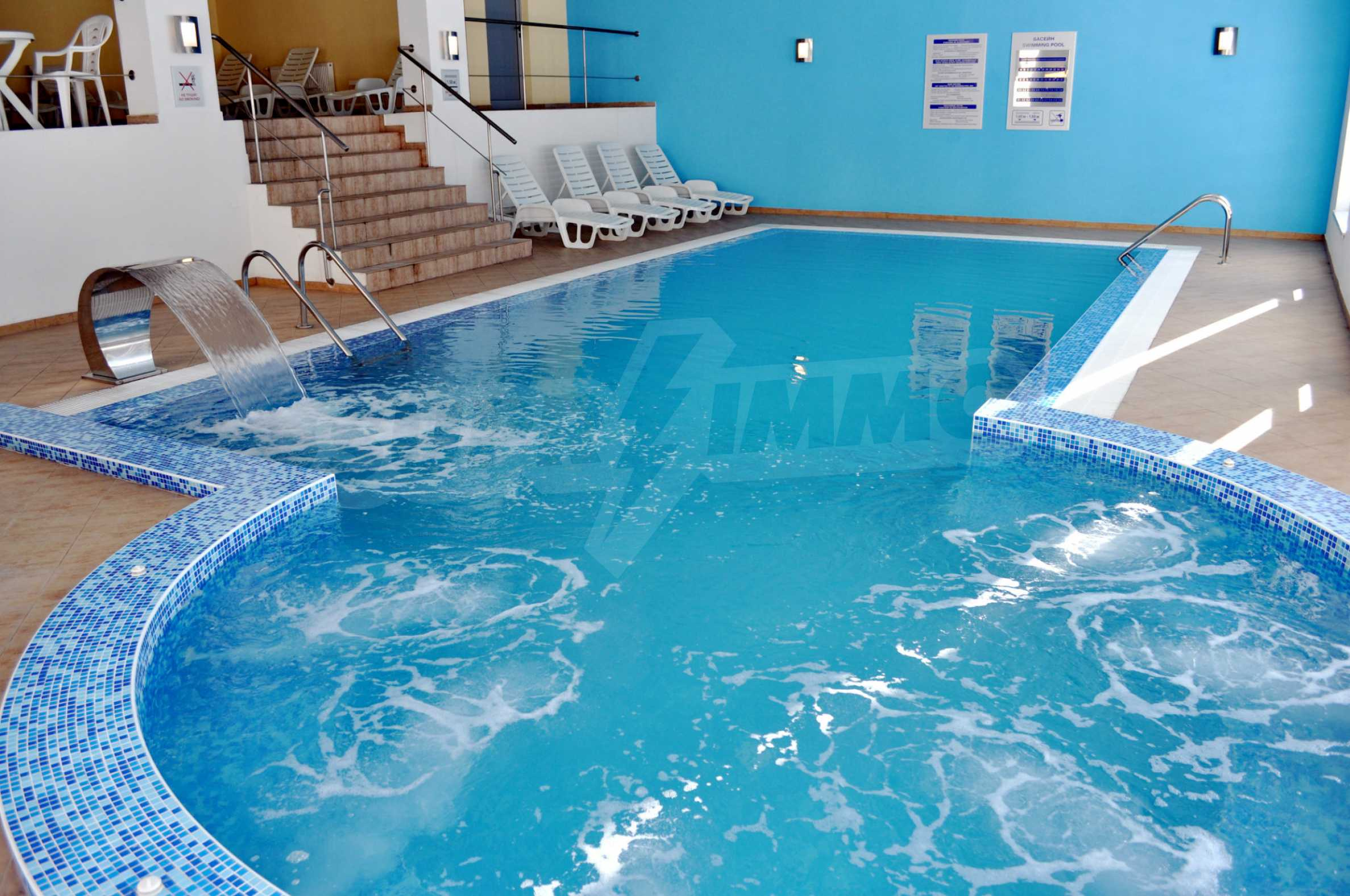 1-bedroom flat in the complex Stream Resort in Pamporovo 21