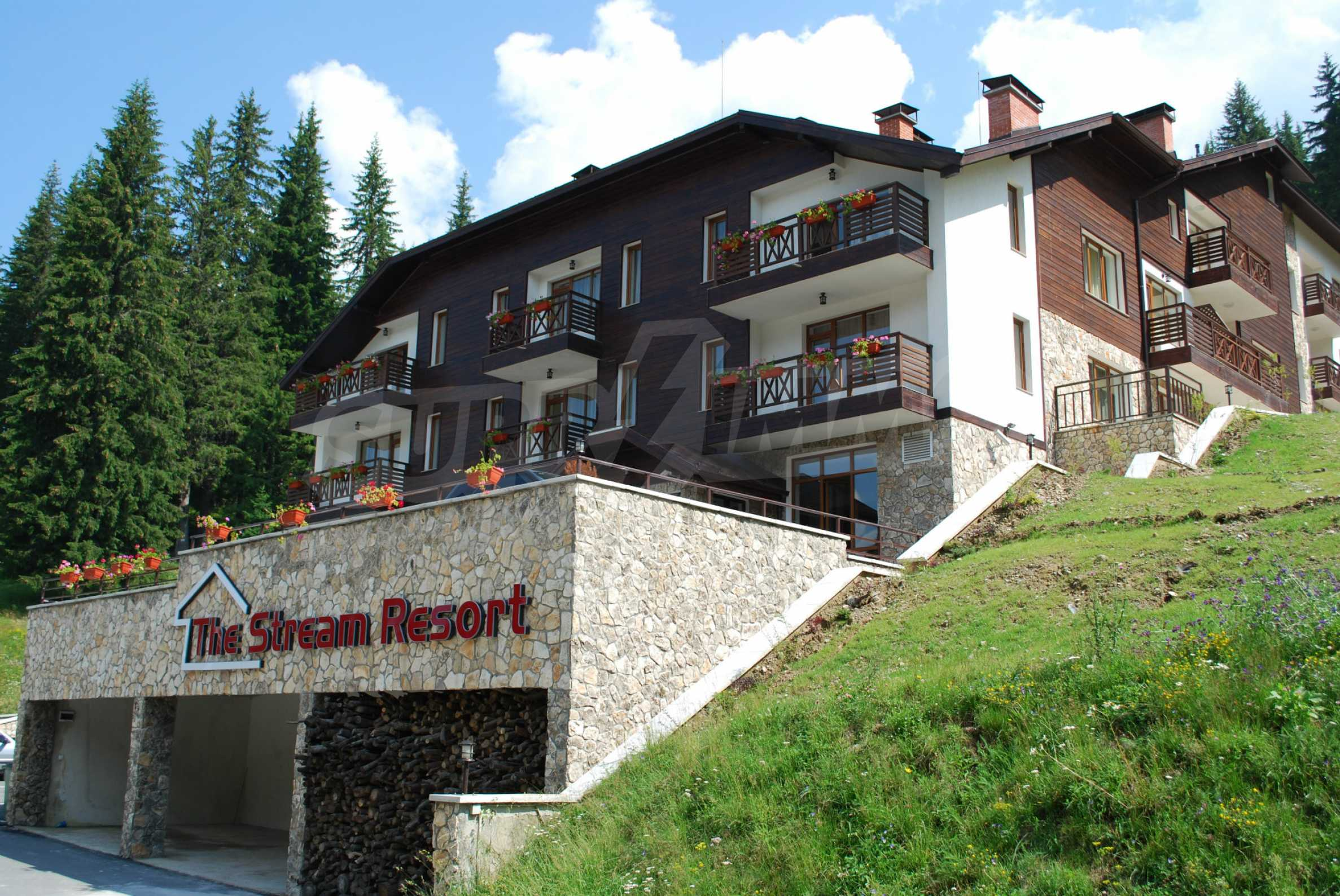 1-bedroom flat in the complex Stream Resort in Pamporovo 30