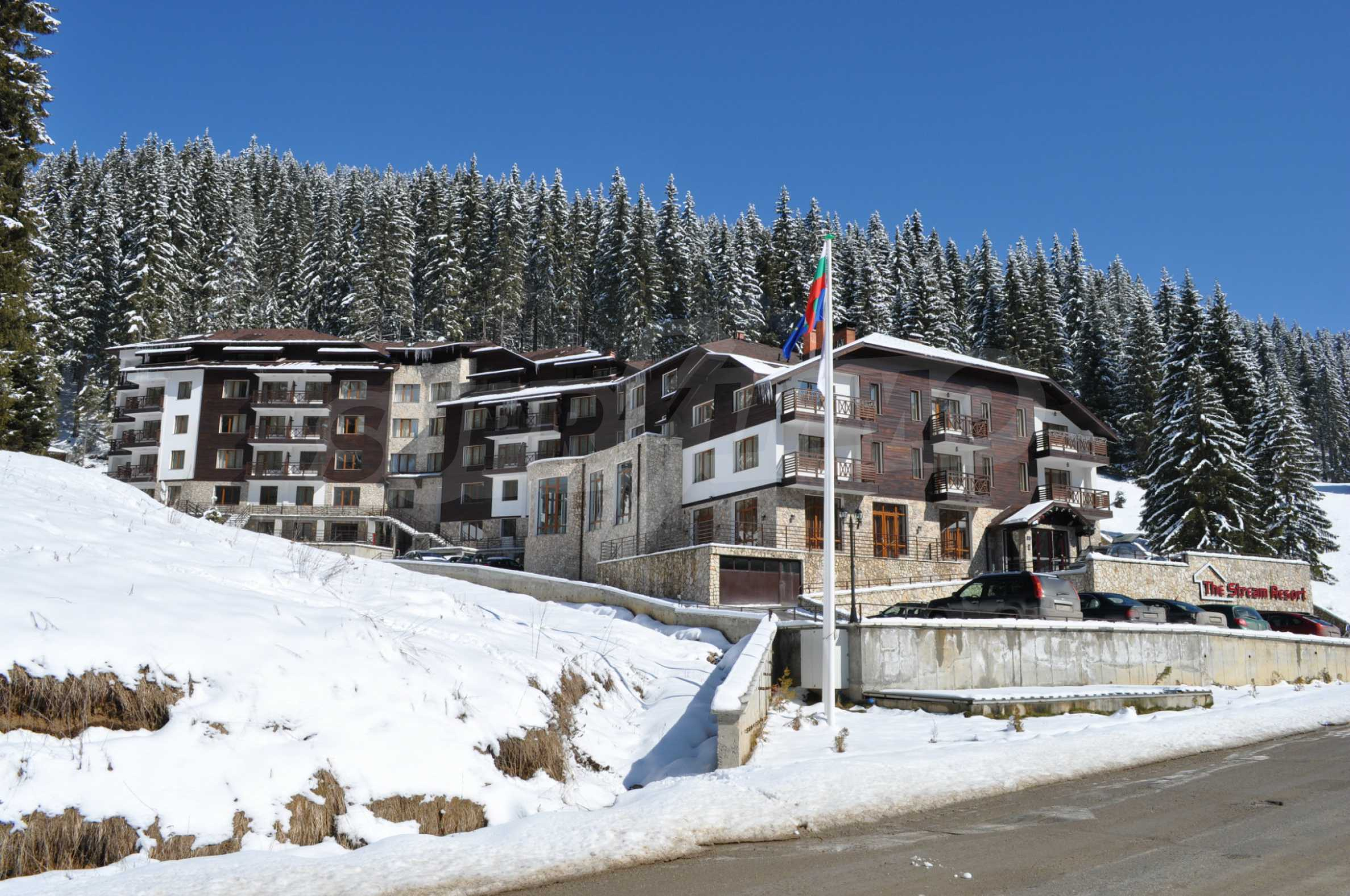 1-bedroom flat in the complex Stream Resort in Pamporovo 32