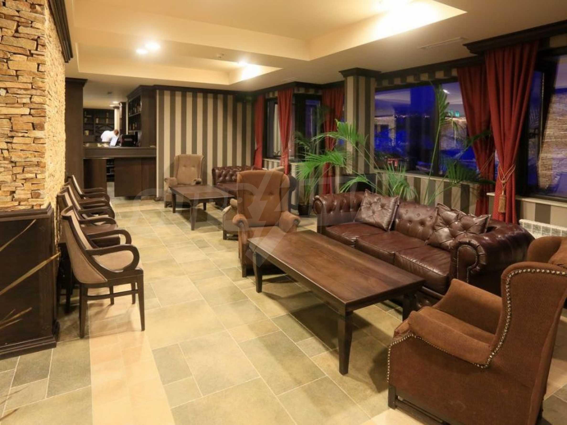 Обзаведени апартаменти за продажба в СПА комплекс в подножието на Пирин в Банско 9