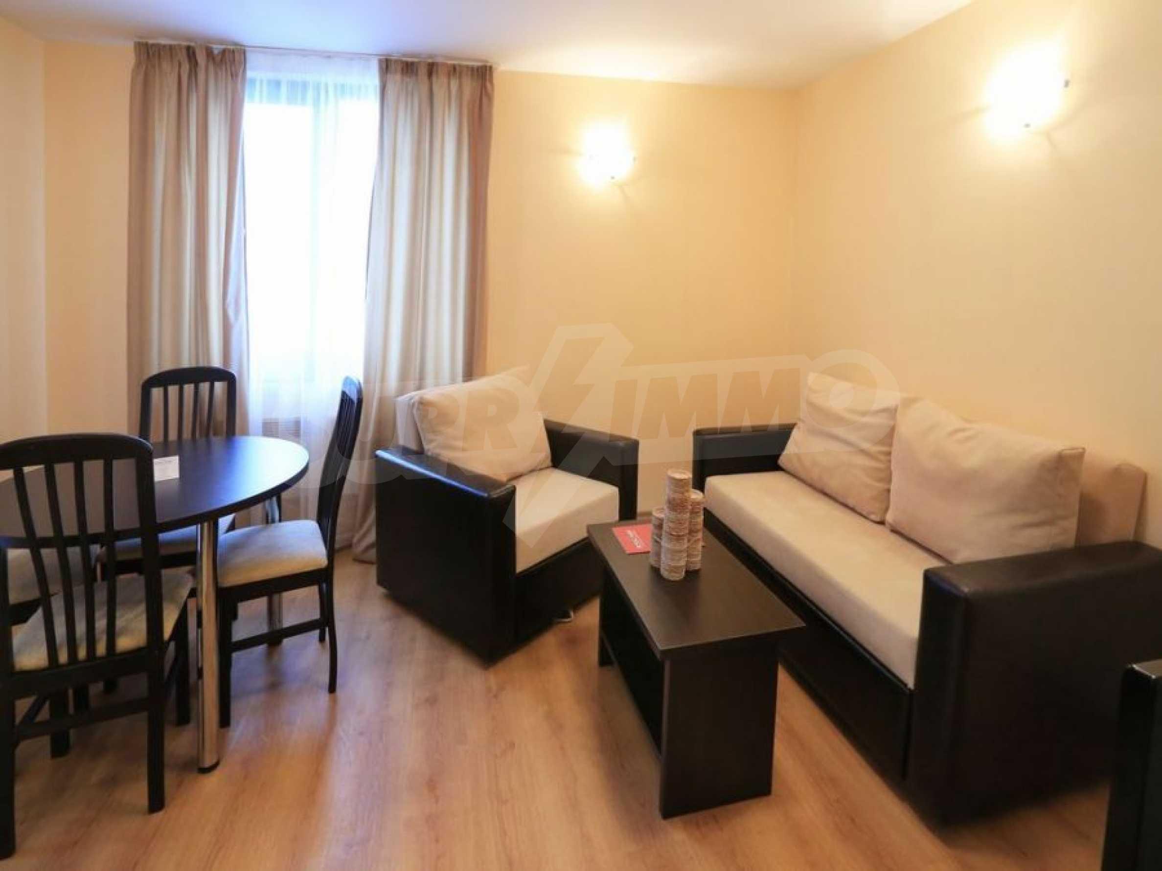 Обзаведени апартаменти за продажба в СПА комплекс в подножието на Пирин в Банско 3