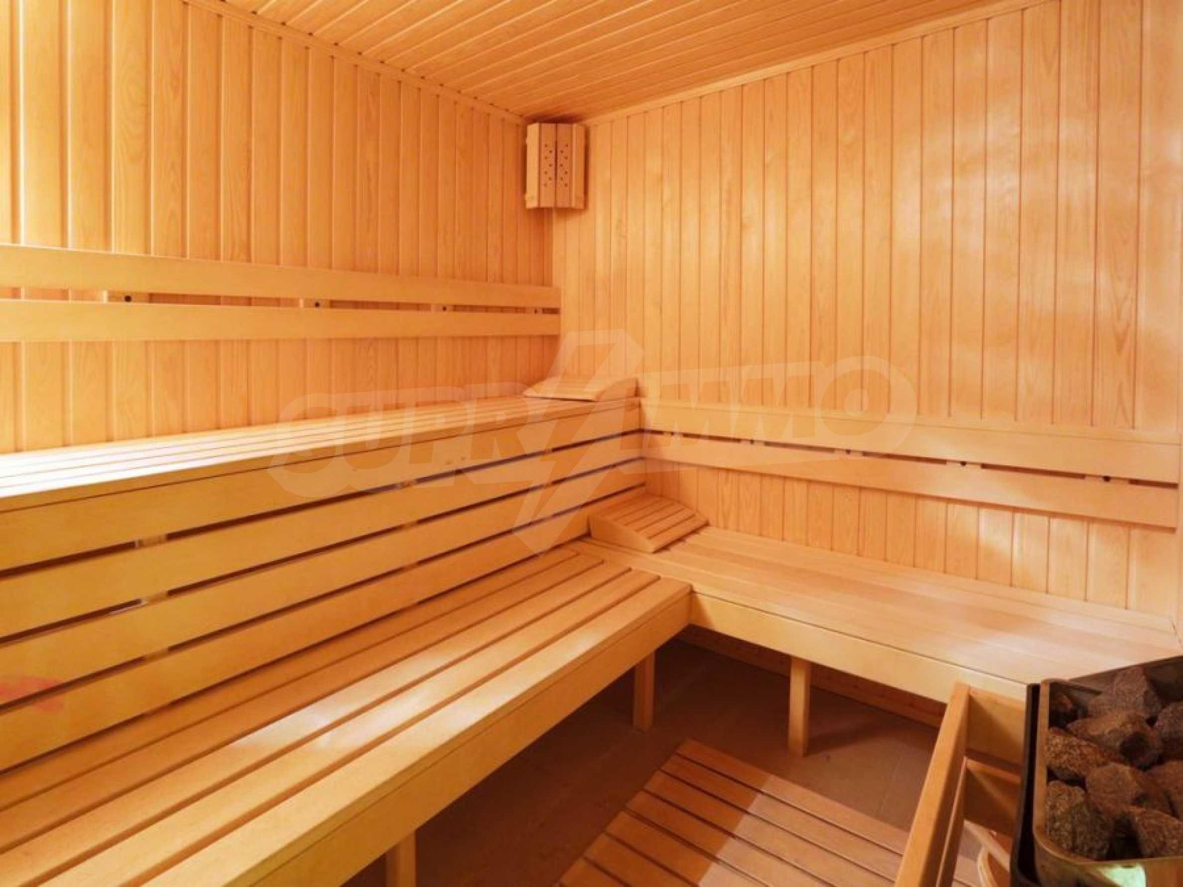 Обзаведени апартаменти за продажба в СПА комплекс в подножието на Пирин в Банско 5