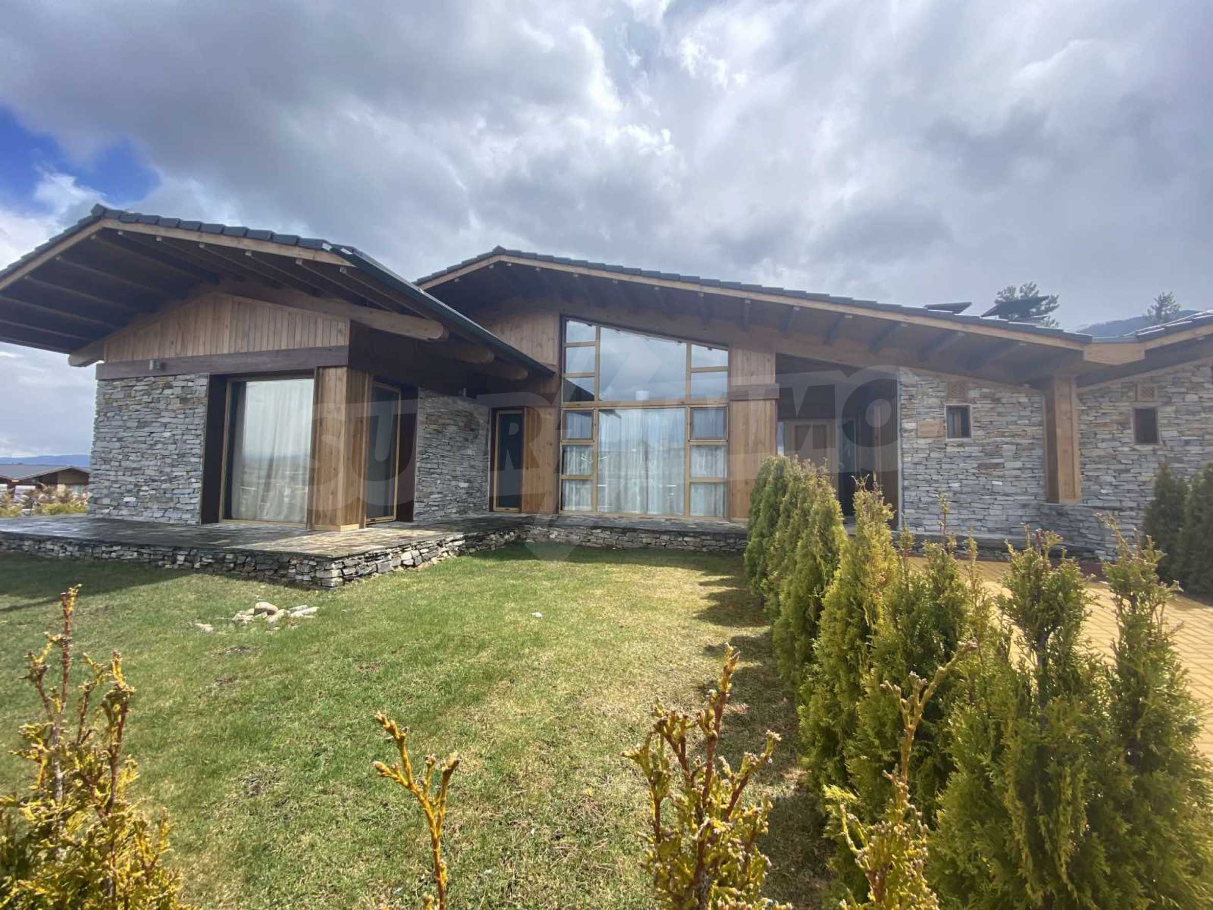 Luxury villa, which is located in the area of Pirin Golf & Country Club near the ski resort of Bansko