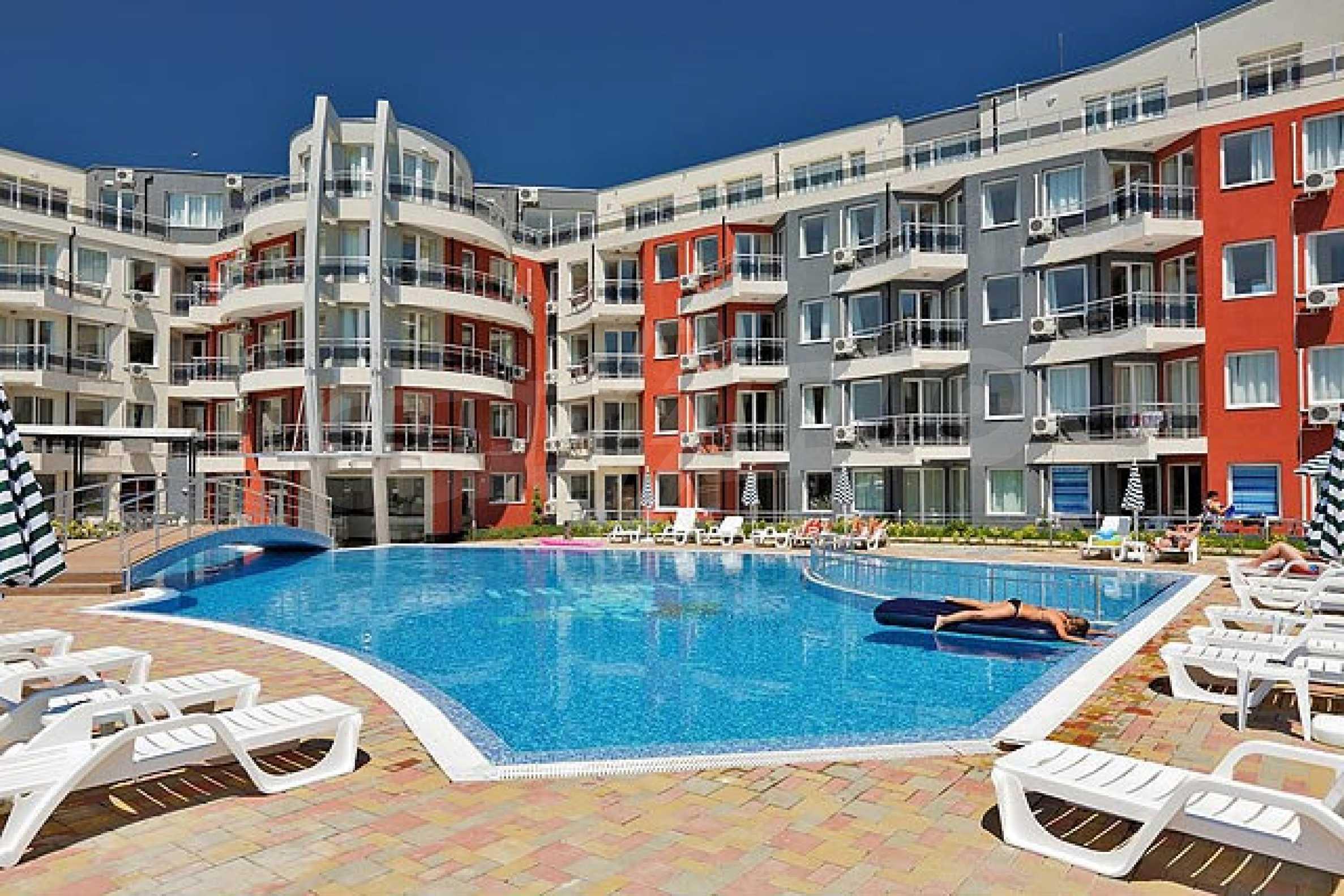 Apartment mit einem Schlafzimmer im Emberli-Komplex in Lozenets 18