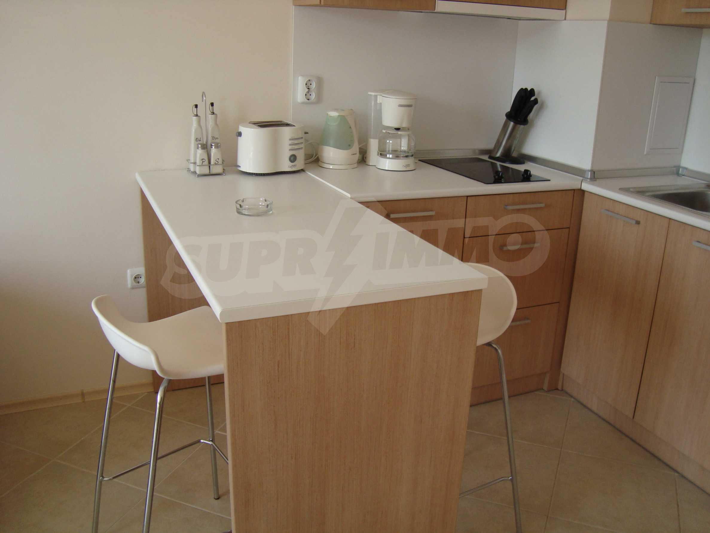 One-bedroom apartment in Emberli complex in Lozenets 2