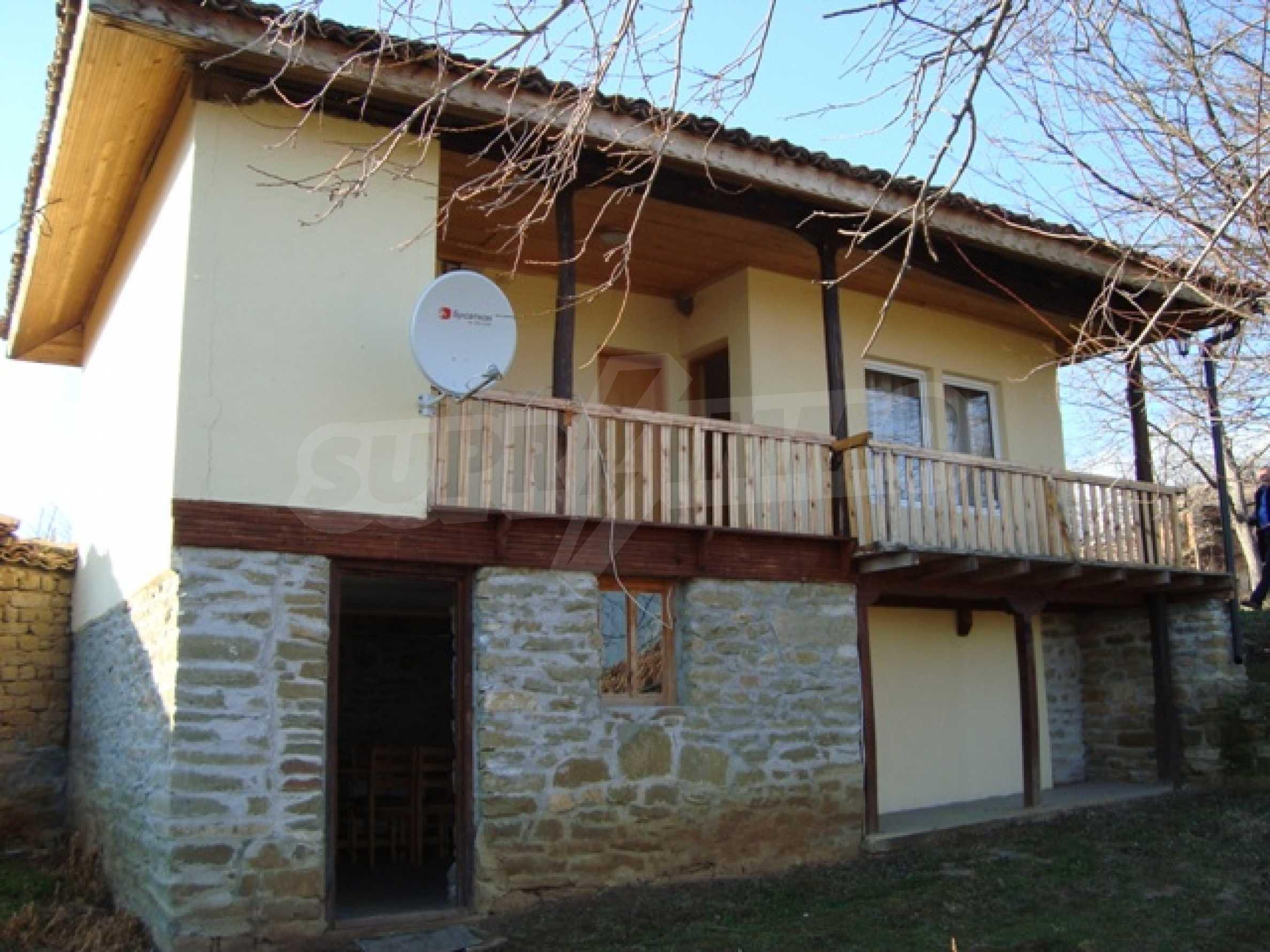 Уютна къща близо до язовир Тича