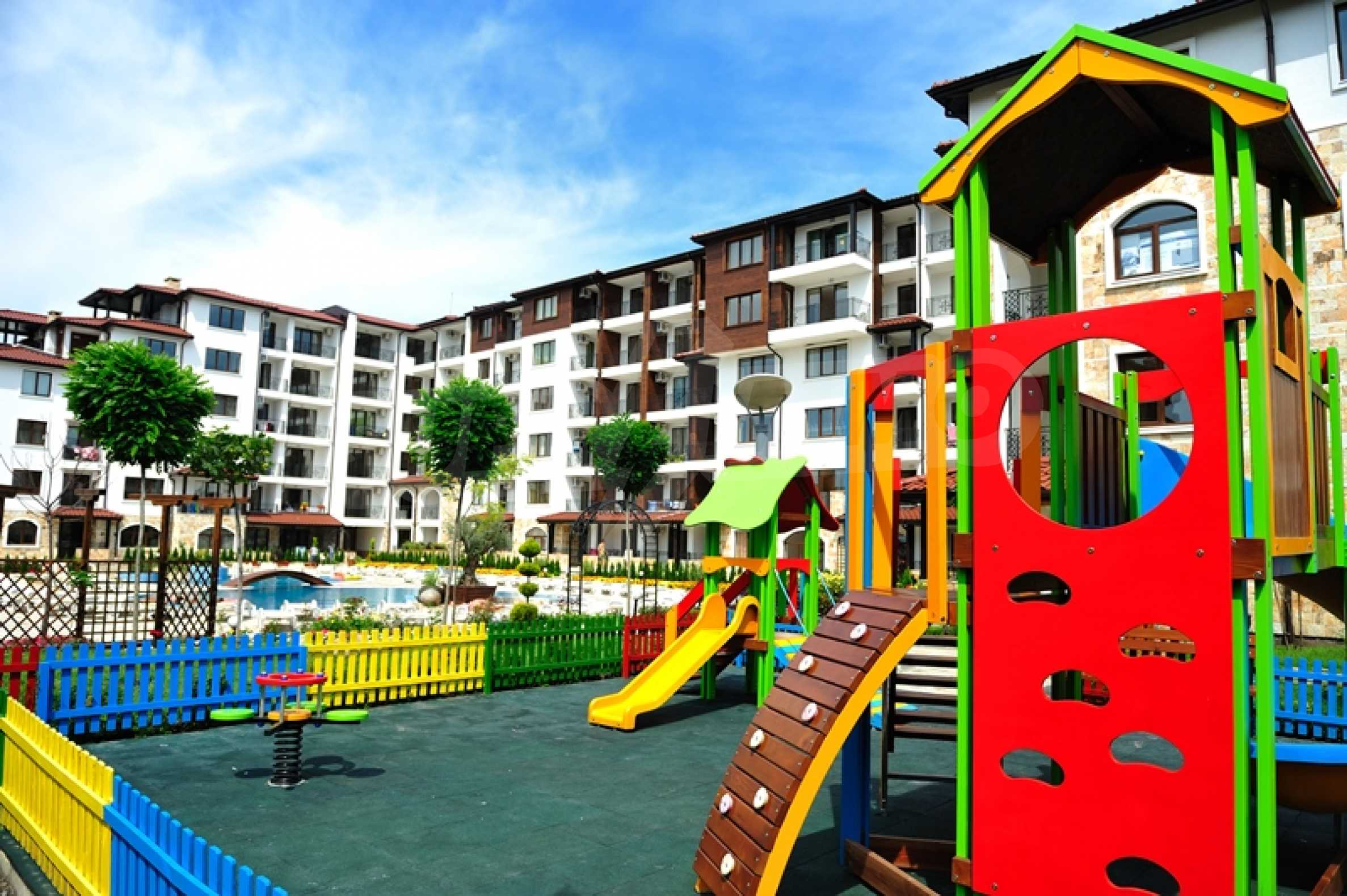Apartments for sale in a gated complex 150 m from the sea  2