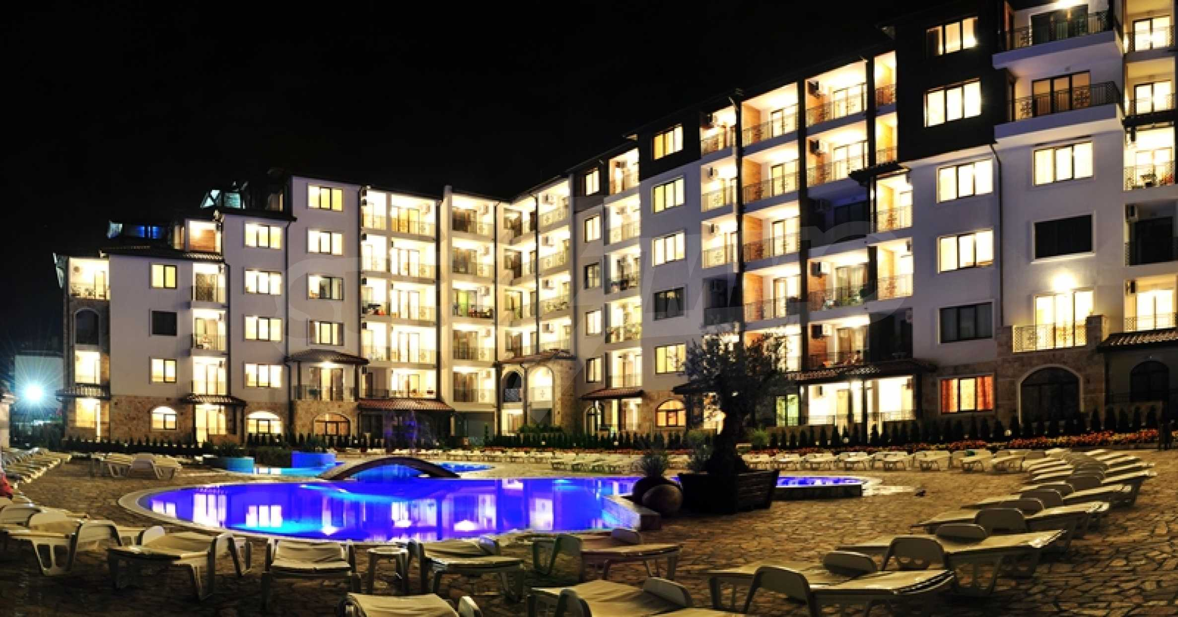 Apartments for sale in a gated complex 150 m from the sea  4