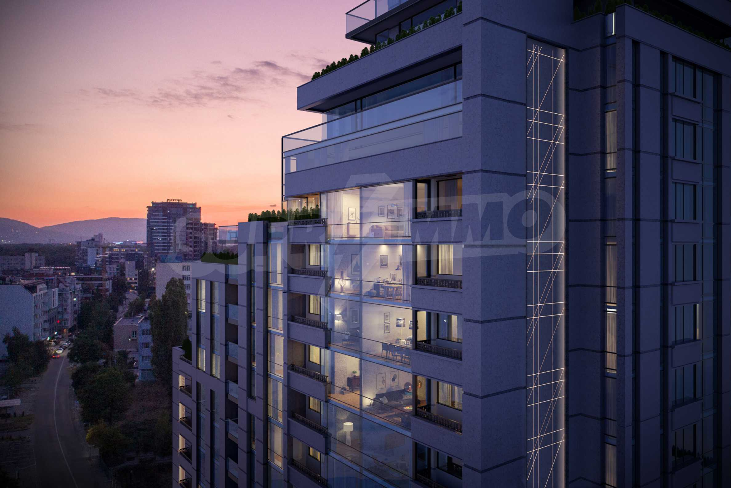 Distinctive project on Tintyava Street next to Joliot Curie metro station. Promo prices! 10