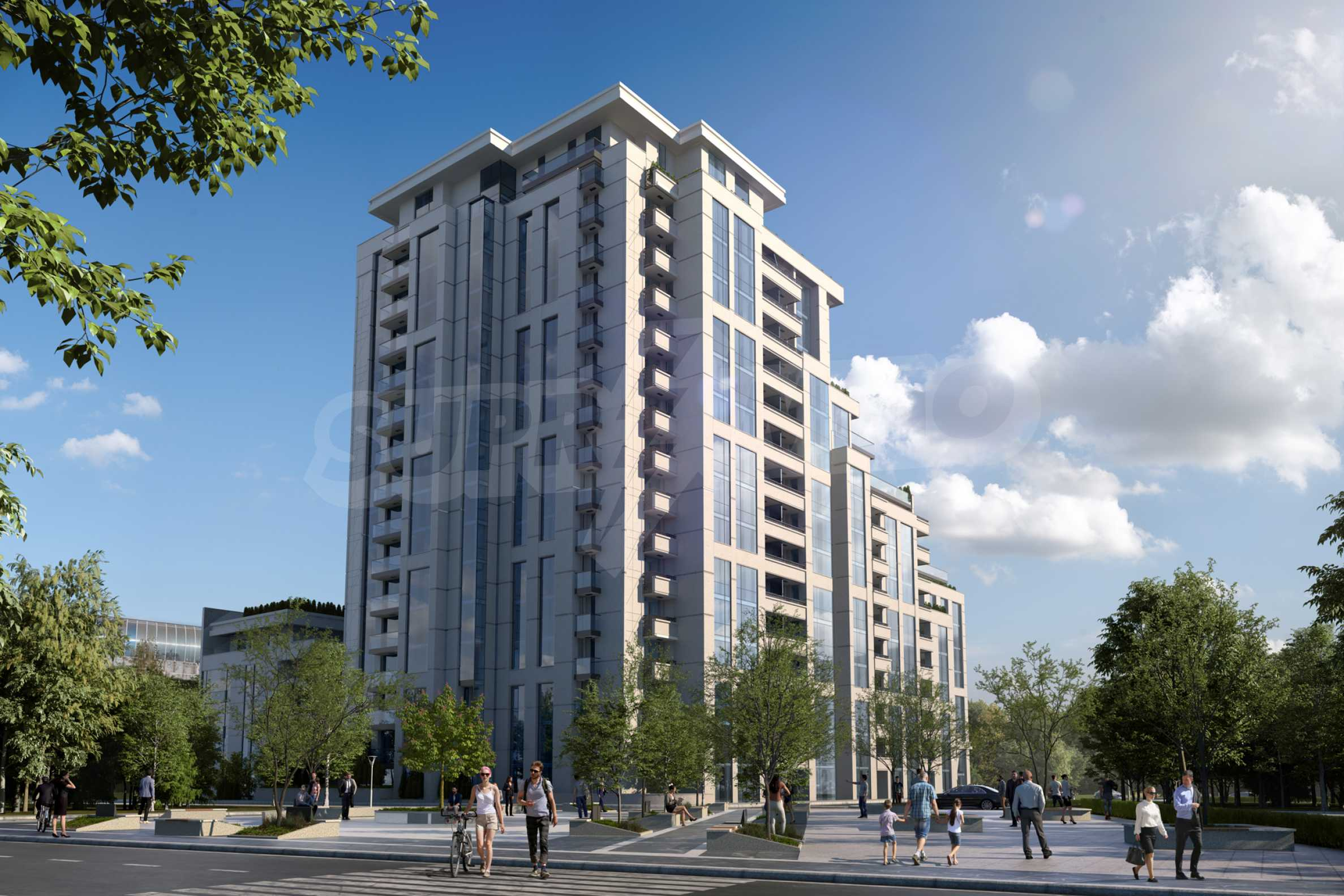 Distinctive project on Tintyava Street next to Joliot Curie metro station. Promo prices! 2