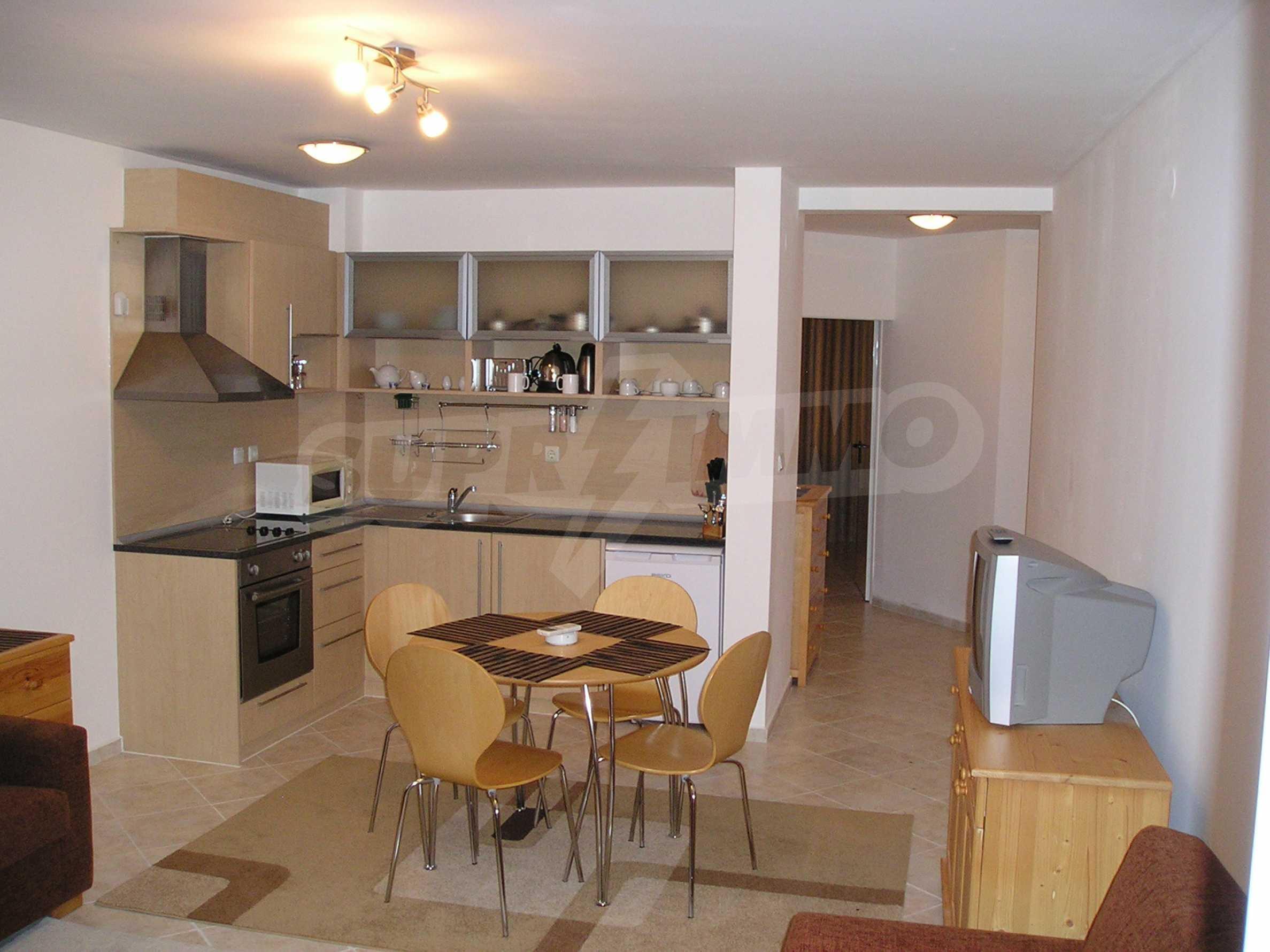 One-bedroom apartment in Sunset Apartments 1 in Kosharitsa 3