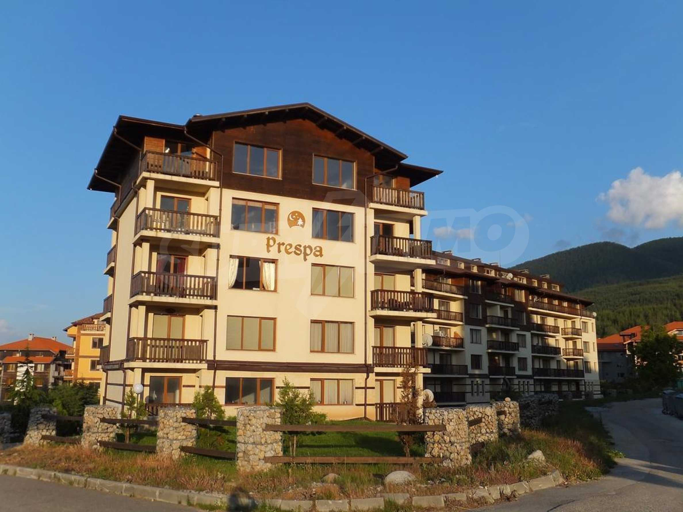 Two-bedroom apartment and garden near the ski lift