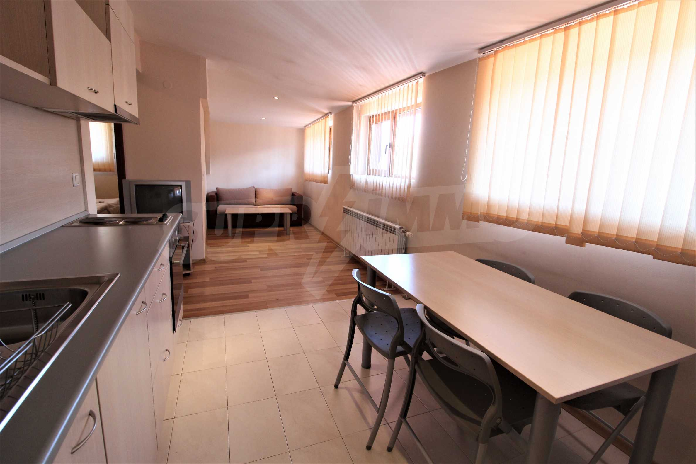 Fully furnished one-bedroom apartment in Snow Plough in Bansko