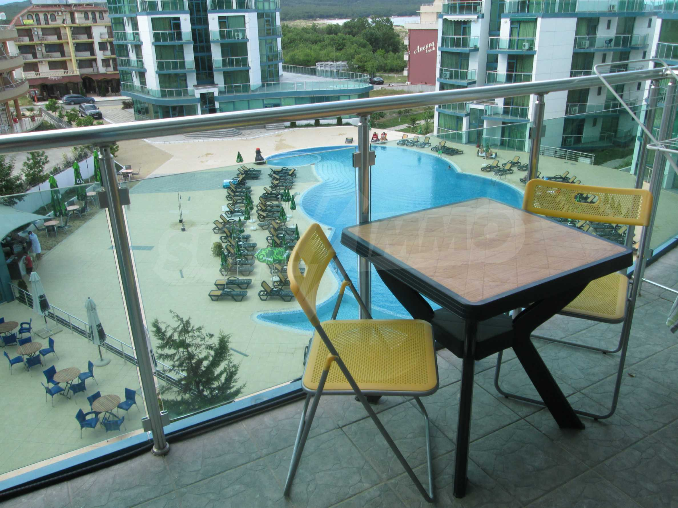 Fully furnished one-bedroom apartment on the beach 12
