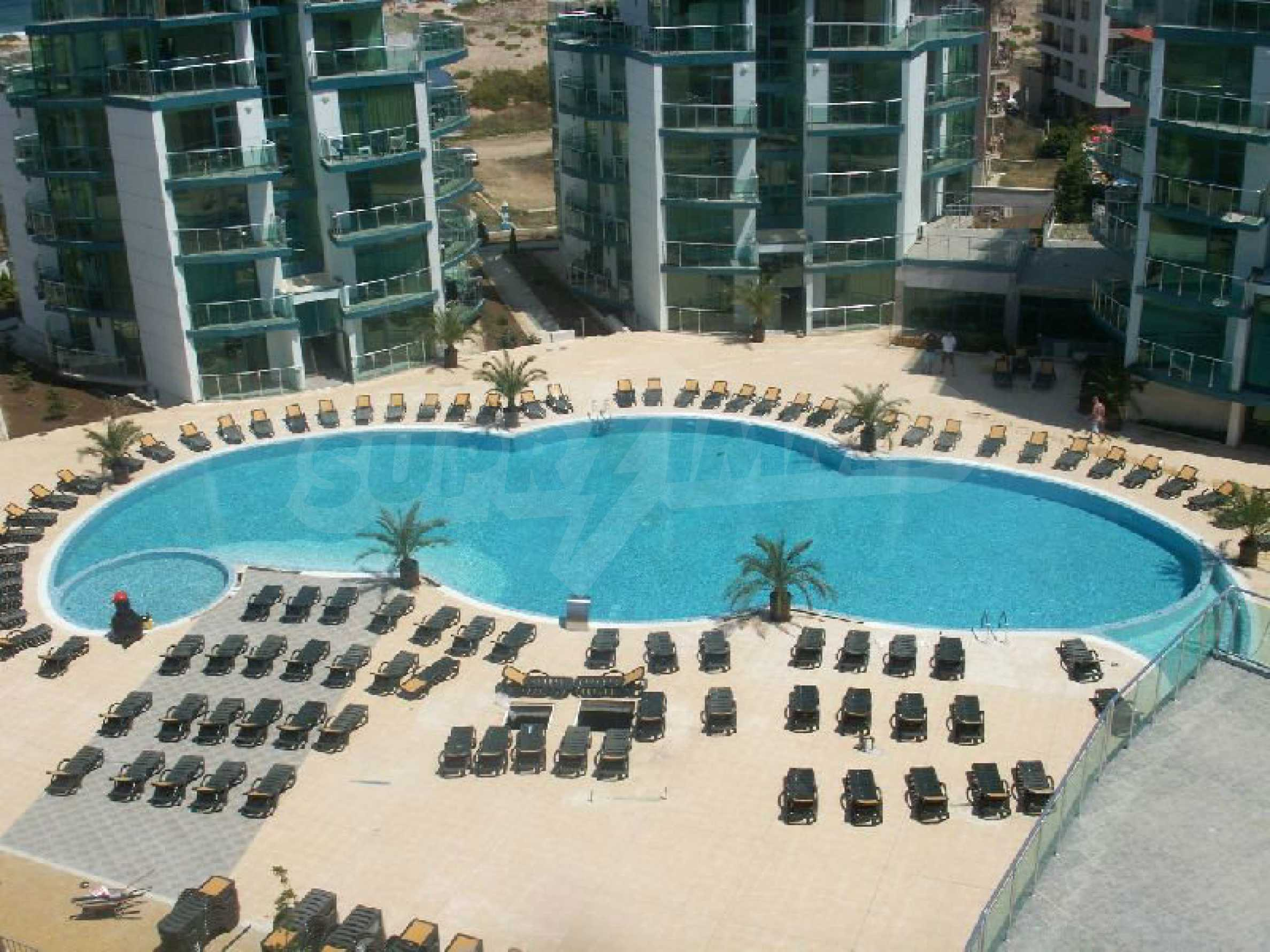 Fully furnished one-bedroom apartment on the beach 17