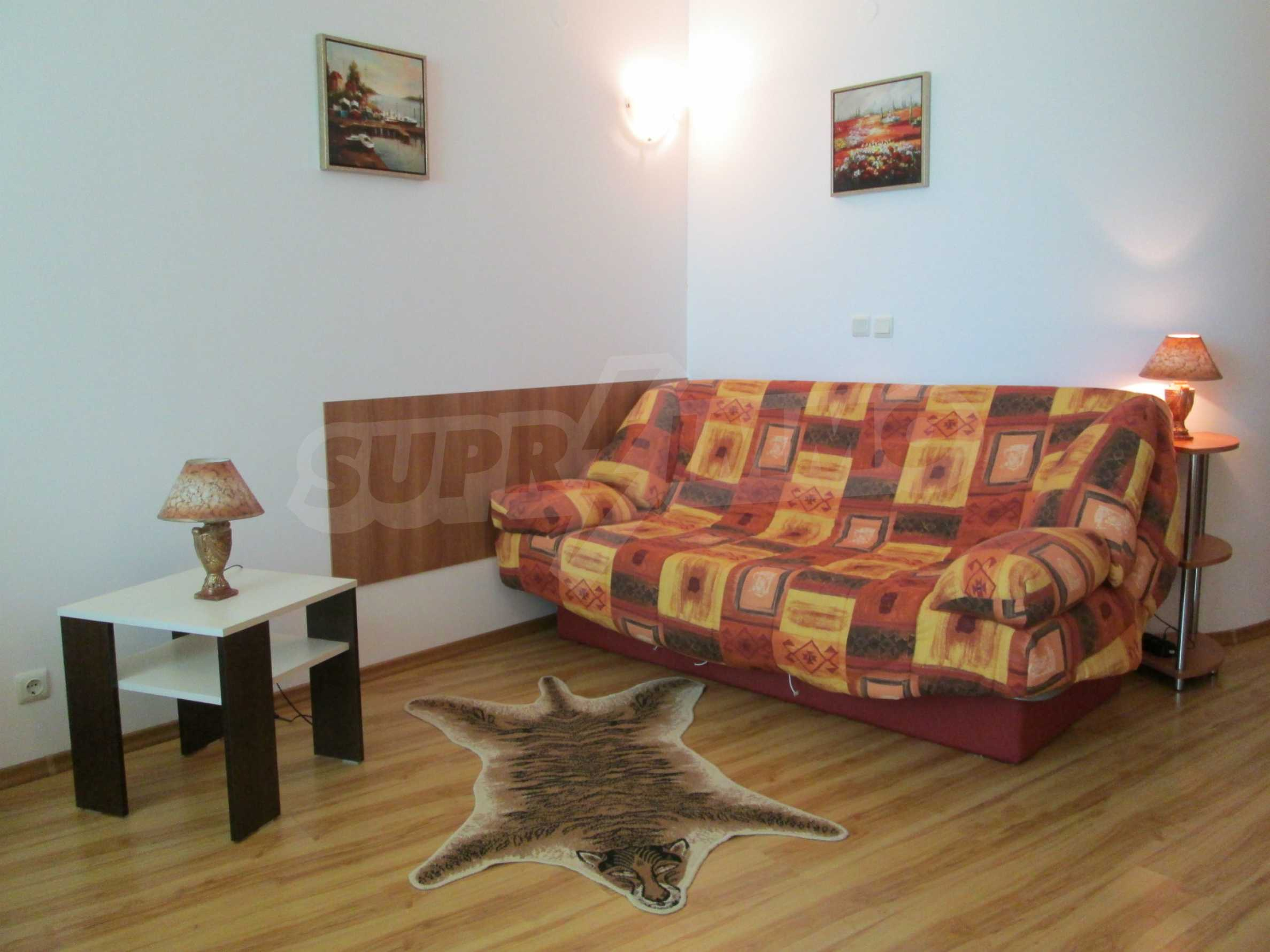 Fully furnished one-bedroom apartment on the sea 6