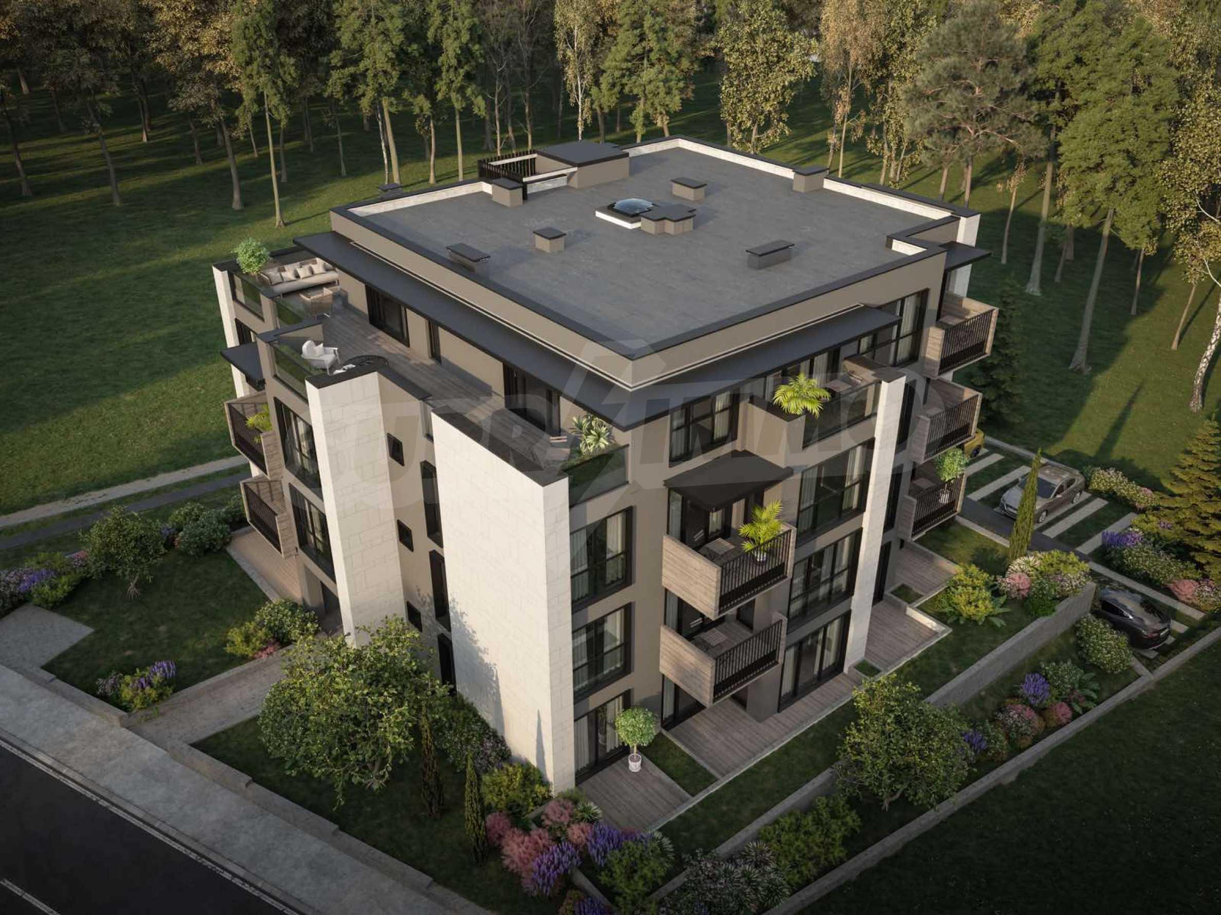 Apartment mit zwei Schlafzimmern in einem Boutique-Gebäude am Fuße des Vitosha-Berges in Dragalevtsi