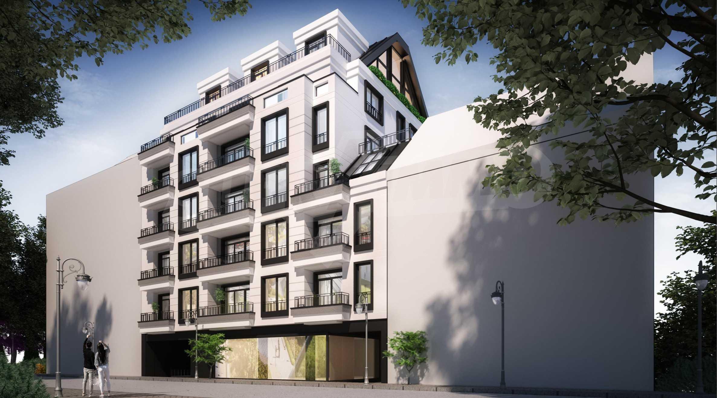 Apartment mit zwei Schlafzimmern in einem neuen Gebäude im Zentrum von Sofia in der Nähe einer U-Bahnstation 1