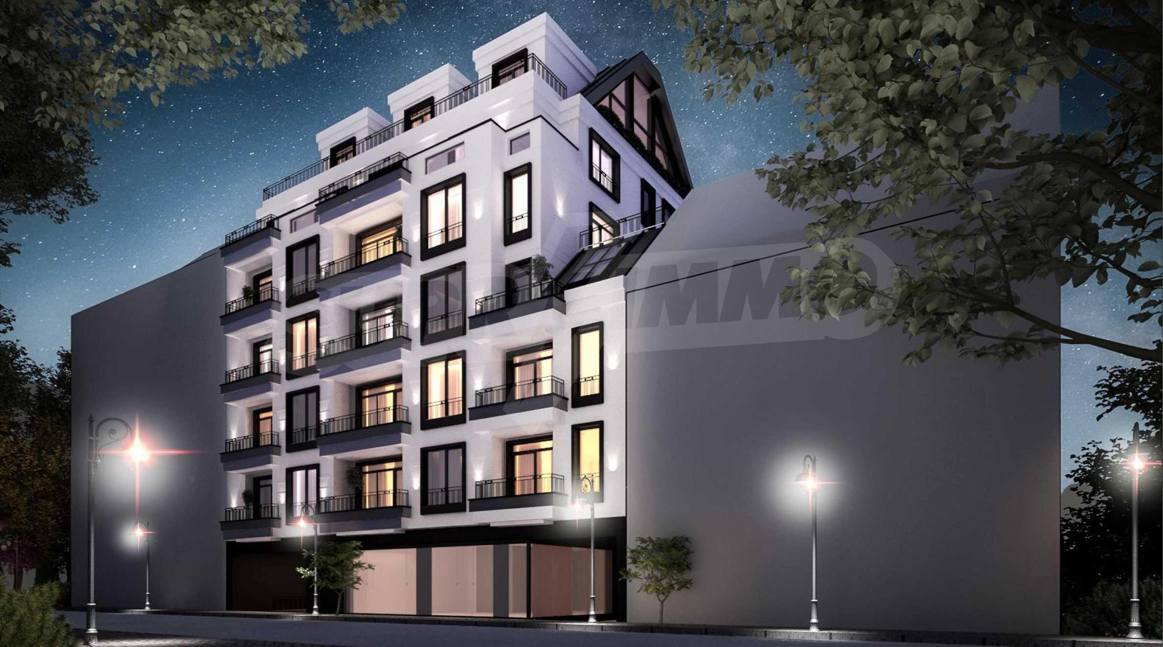 Apartment mit zwei Schlafzimmern in einem neuen Gebäude im Zentrum von Sofia in der Nähe einer U-Bahnstation 4