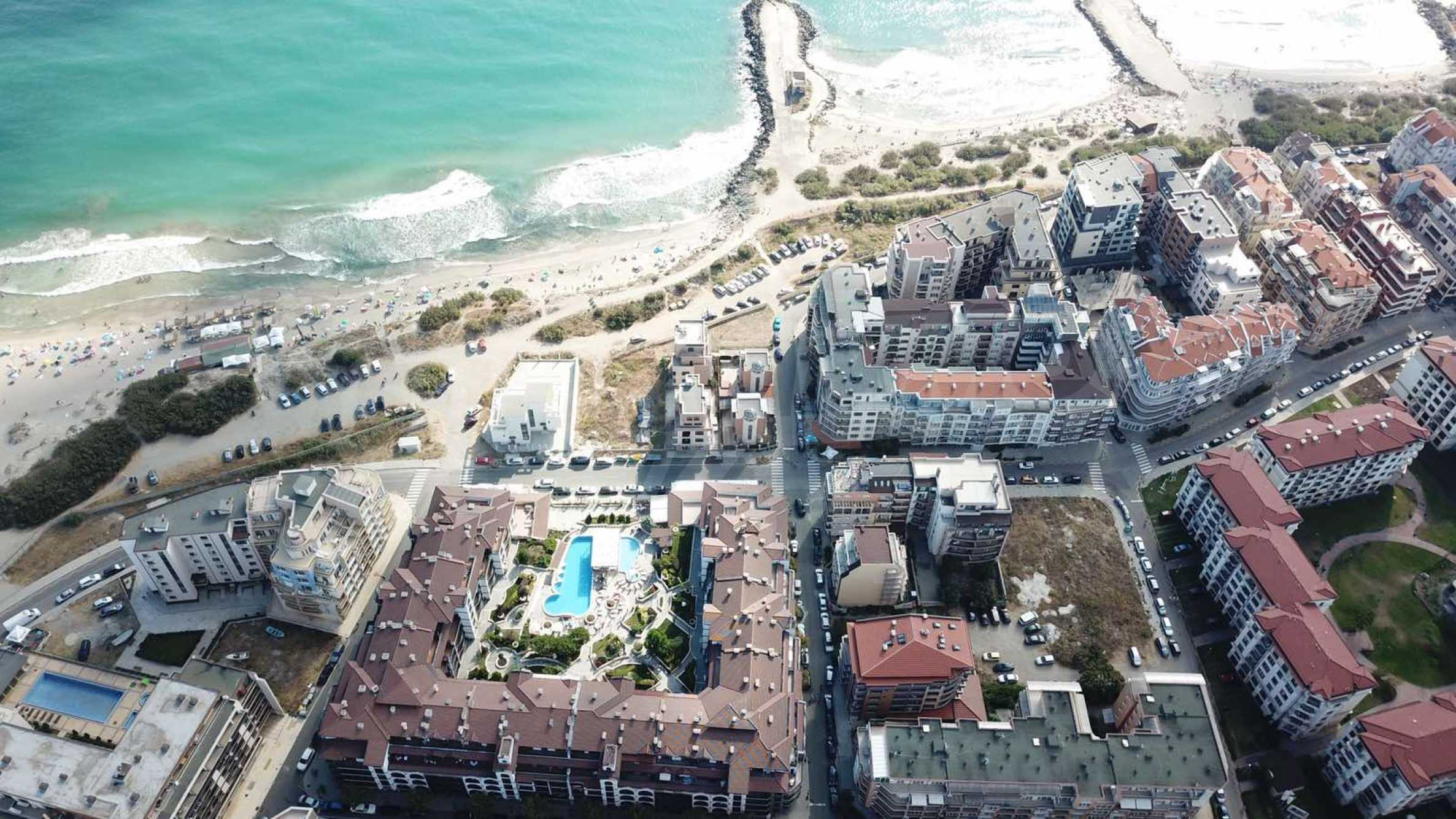Plot of land for construction on the second line from the beach, with sea view in Pomorie 1