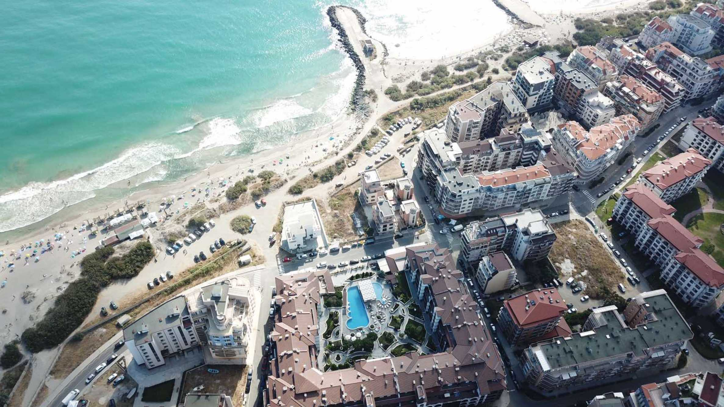 Plot of land for construction on the second line from the beach, with sea view in Pomorie 2