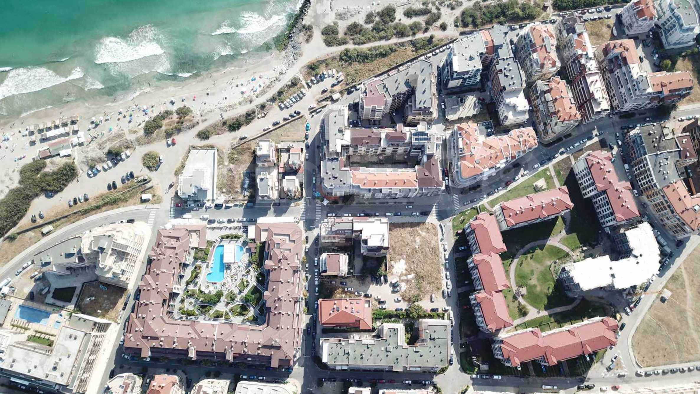Plot of land for construction on the second line from the beach, with sea view in Pomorie 3
