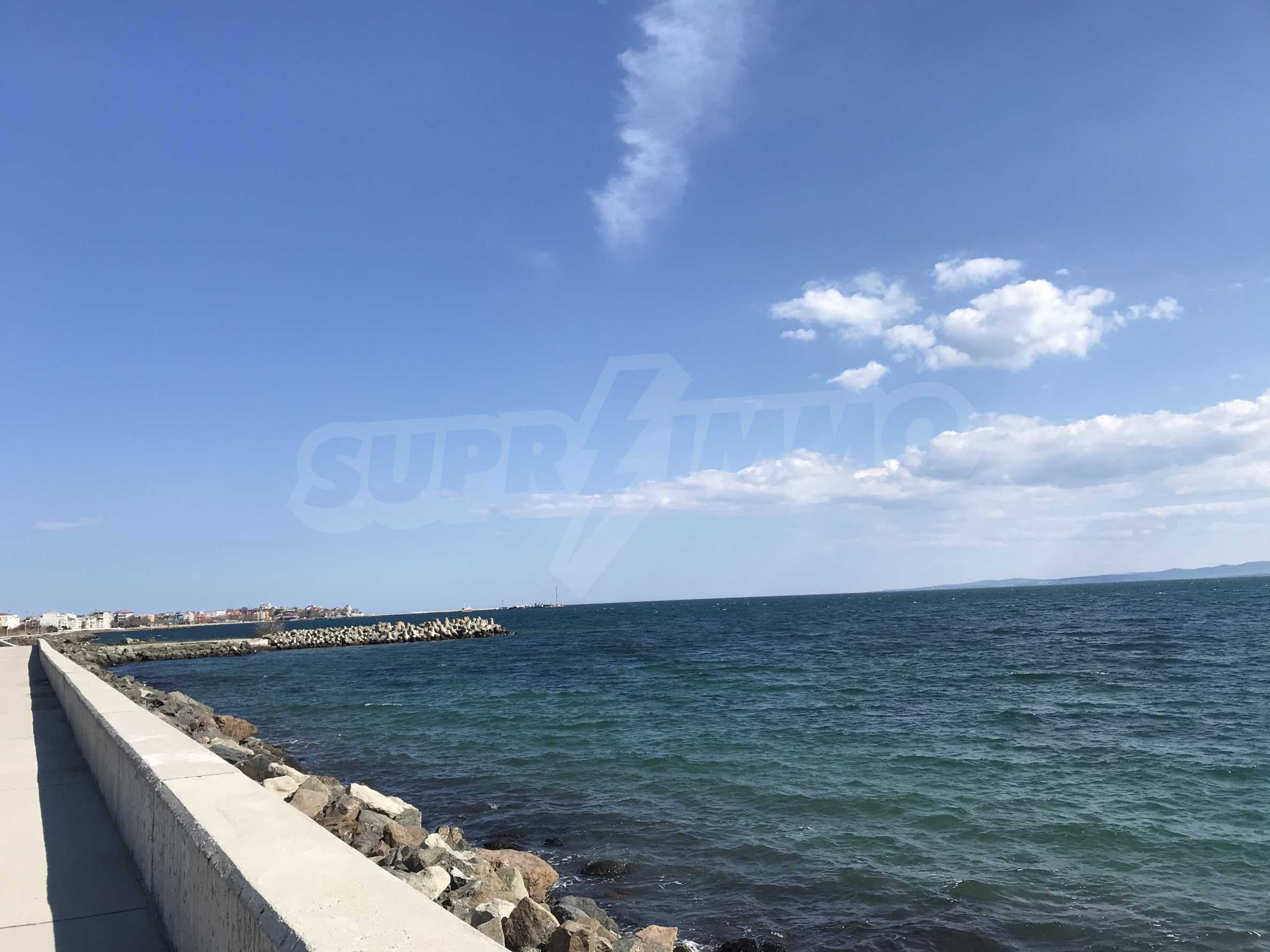 Plot of land for construction on the second line from the beach, with sea view in Pomorie 6