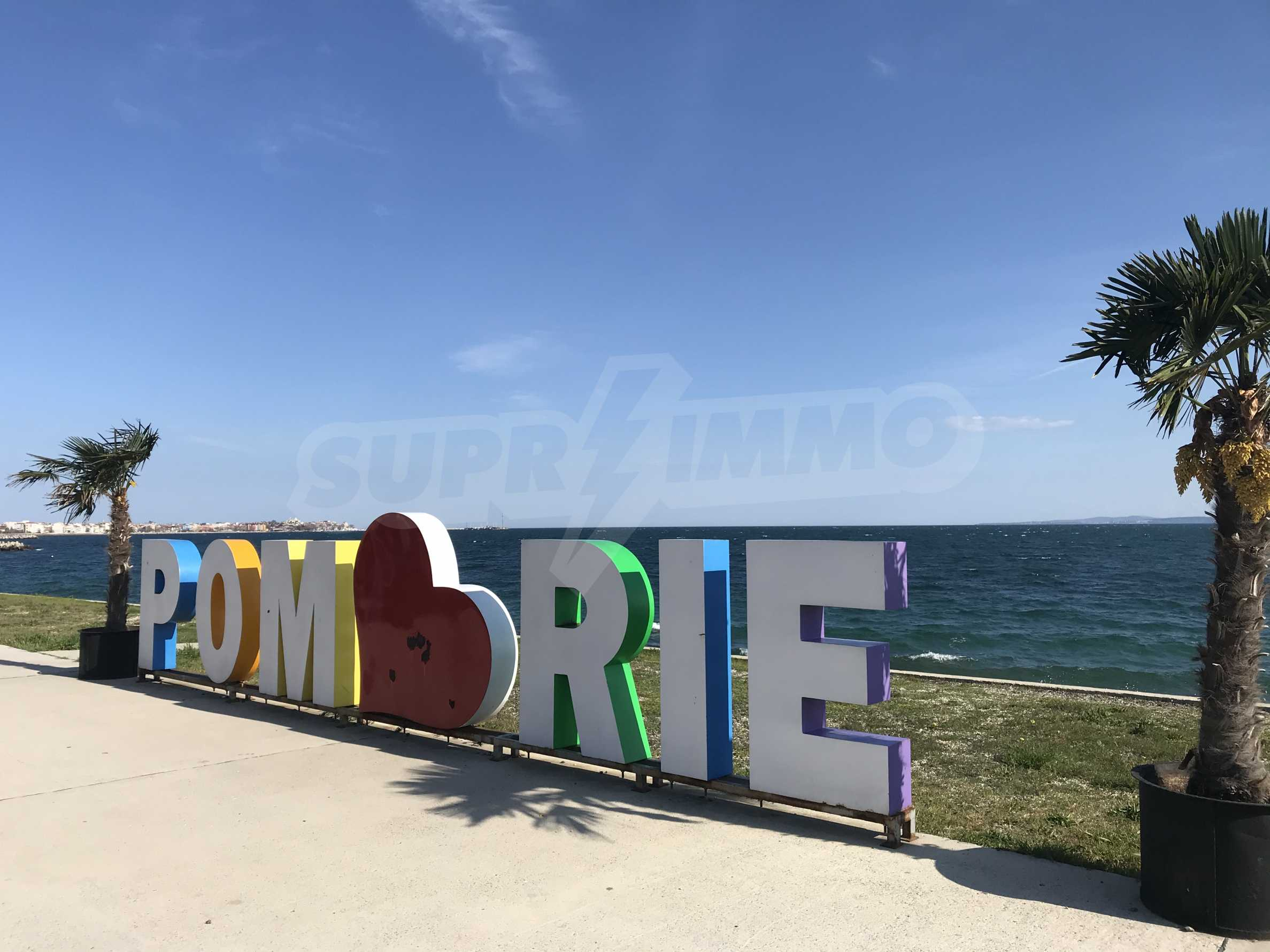 Plot of land for construction on the second line from the beach, with sea view in Pomorie 4