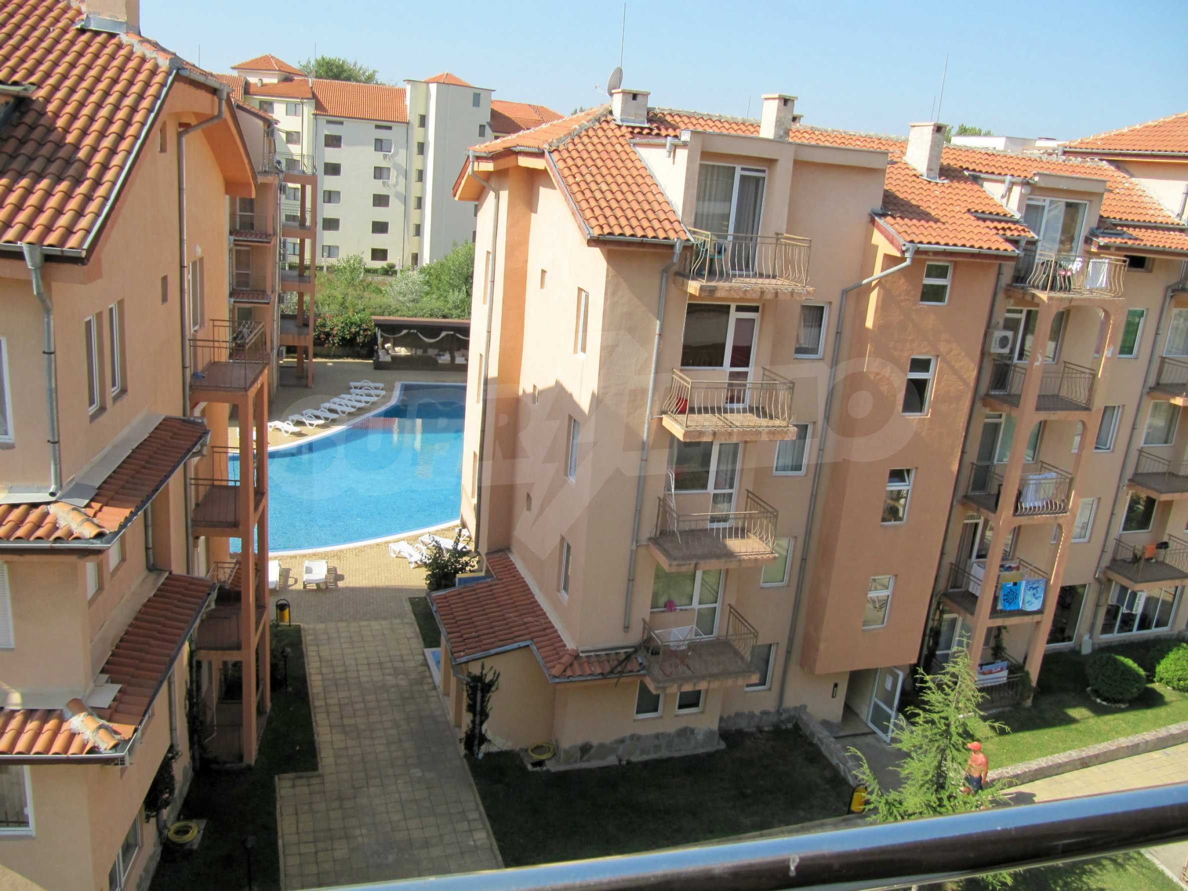 One bedroom apartment in Eden Apartments in Sunny beach 22