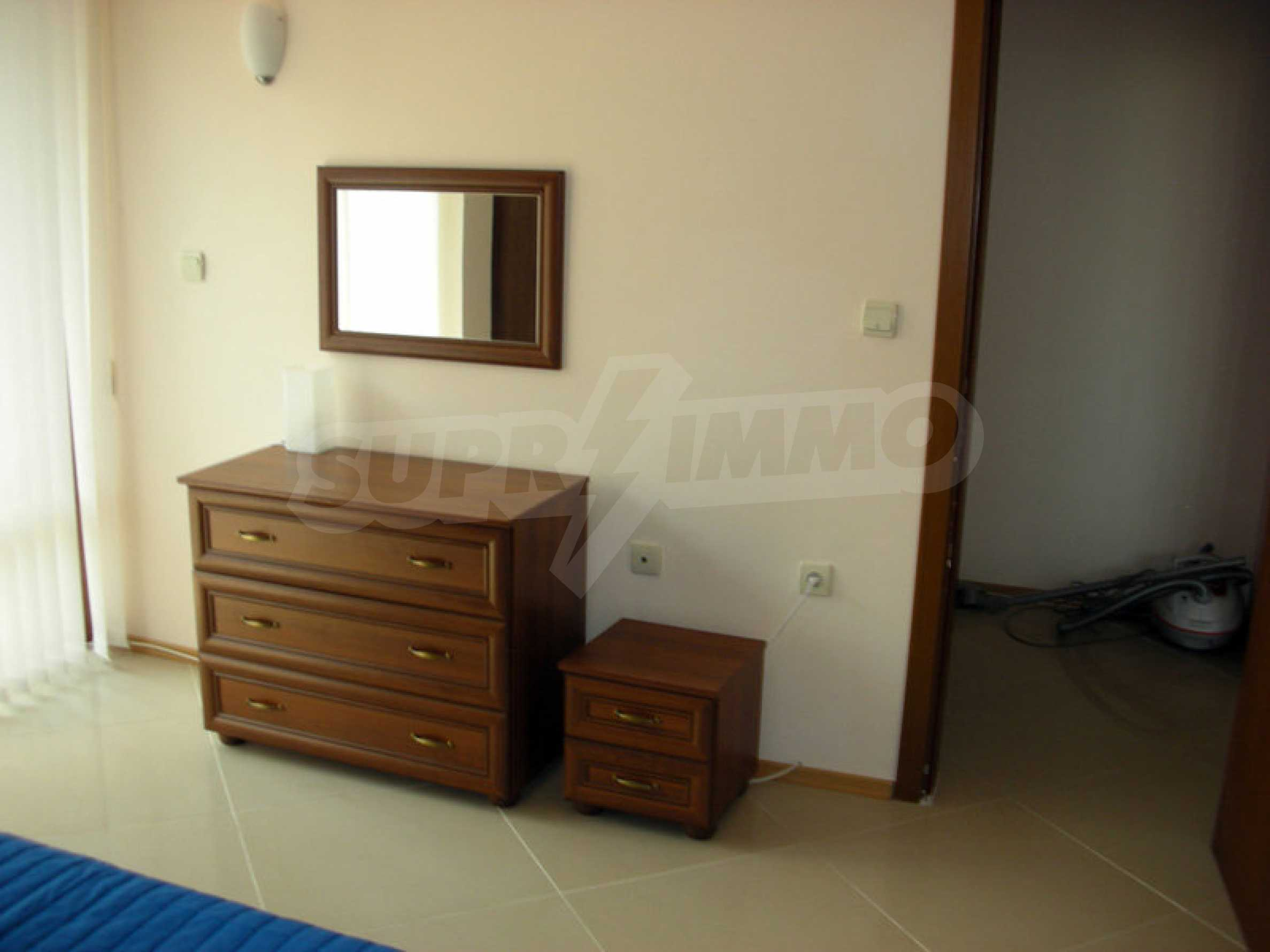 One-bedroom apartment in Eden Apartments complex in Sunny Beach 9
