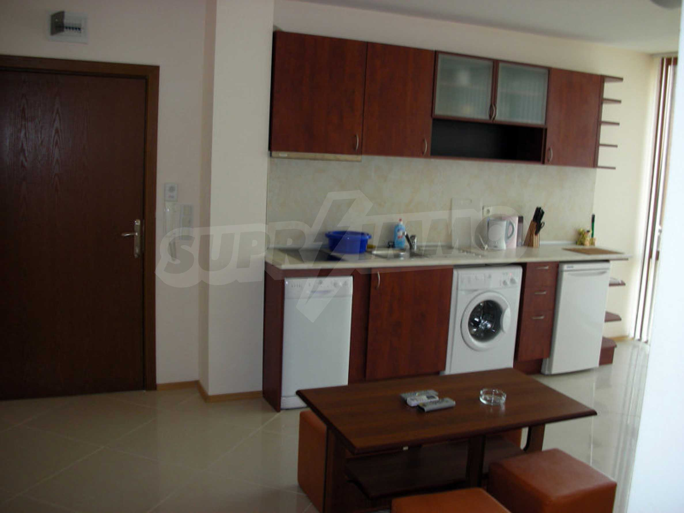 One-bedroom apartment in Eden Apartments complex in Sunny Beach 2