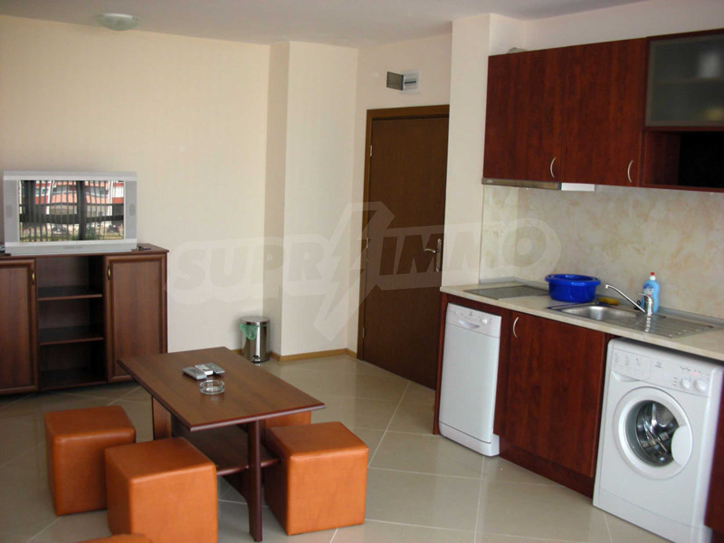 One-bedroom apartment in Eden Apartments complex in Sunny Beach 3