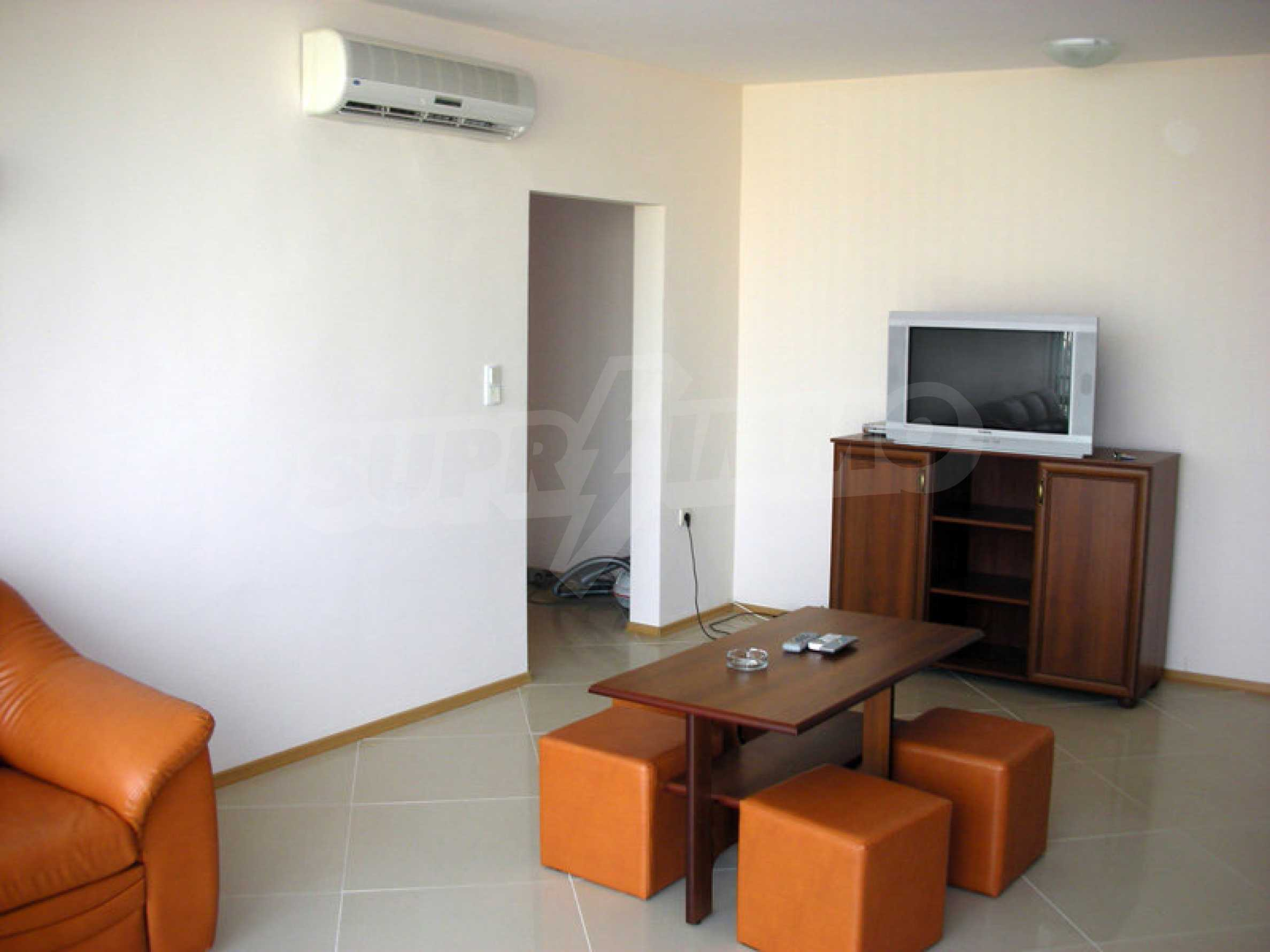 One-bedroom apartment in Eden Apartments complex in Sunny Beach 4