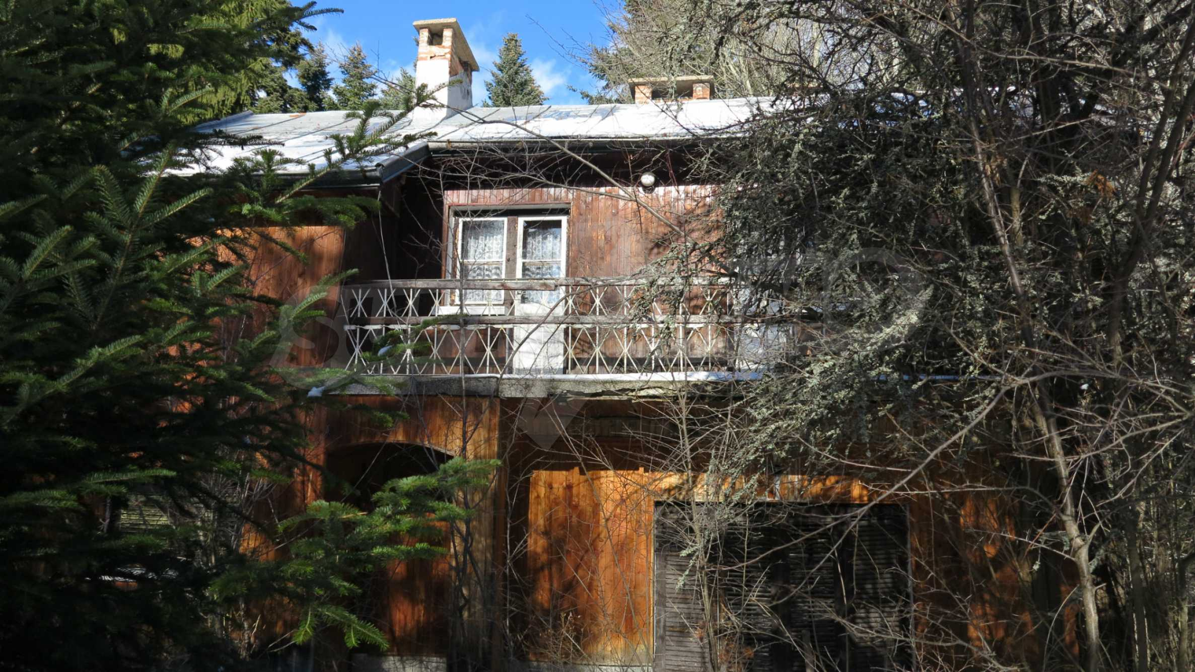Großes Grundstück mit zweistöckiger Villa im Skigebiet Borovets 8