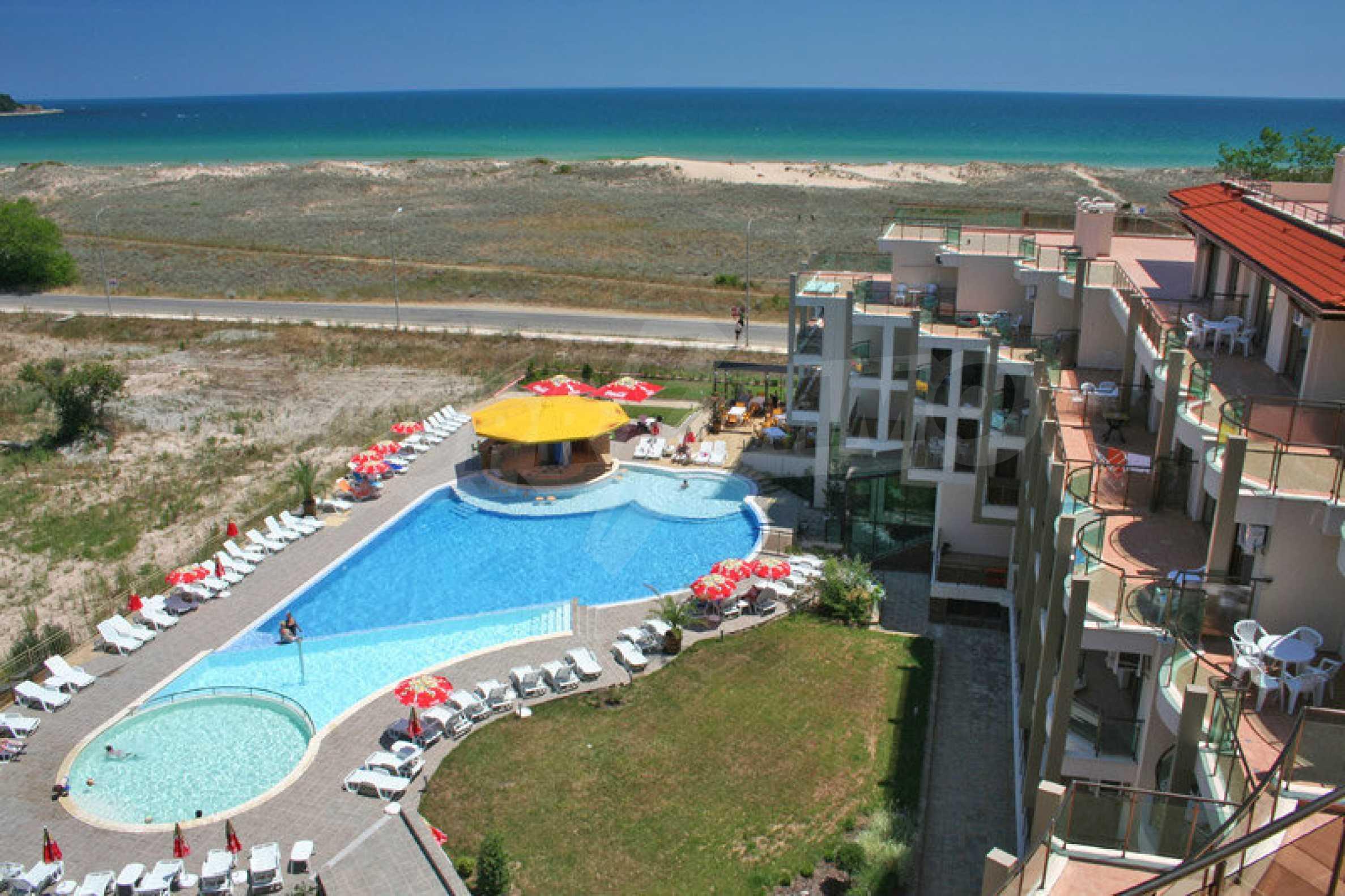 Luxus-Apartment mit zwei Schlafzimmern im Komplex Prestige City 2 in Primorsko 16